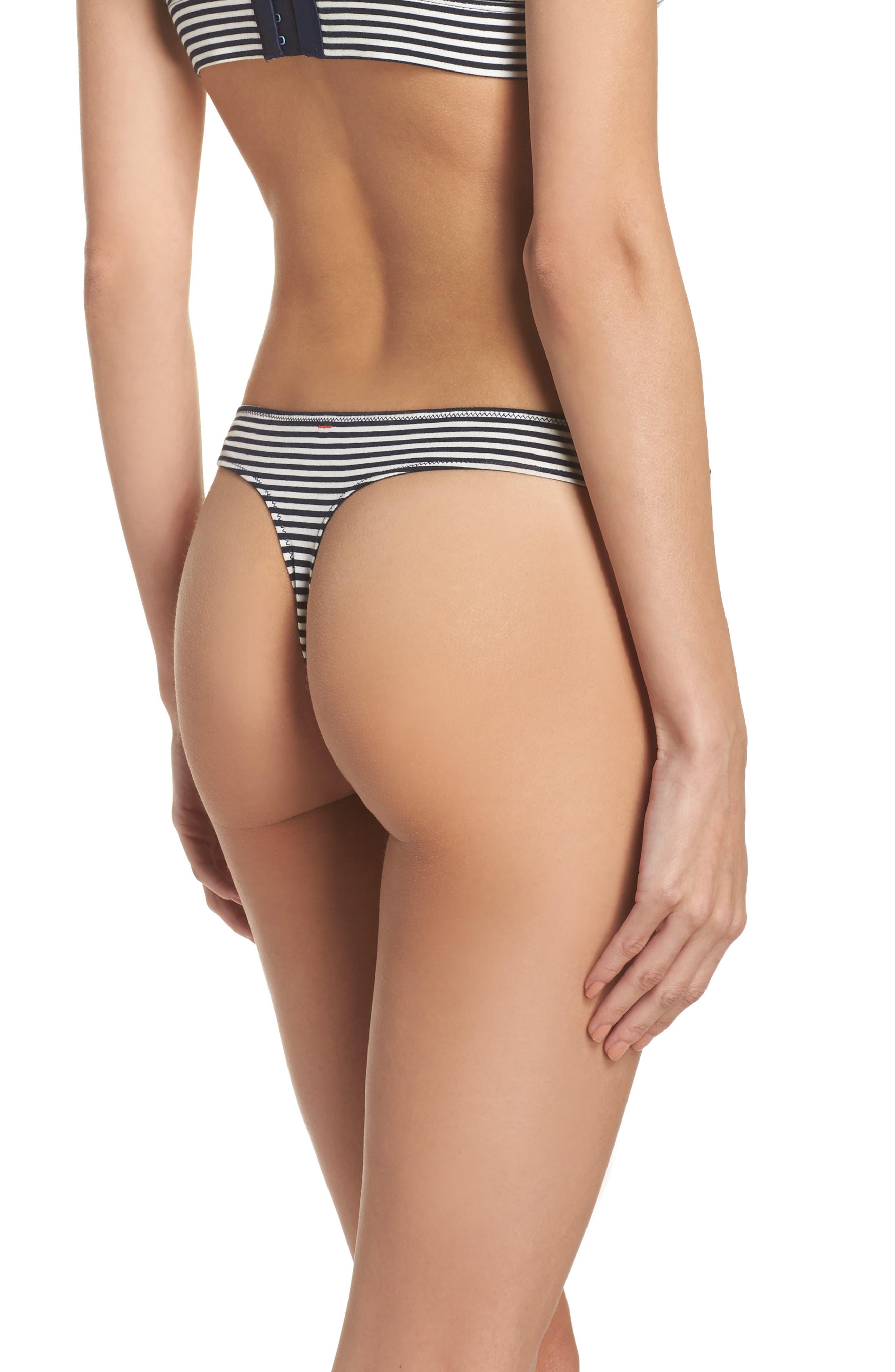 Alternate Image 2  - Madewell Jersey Thong