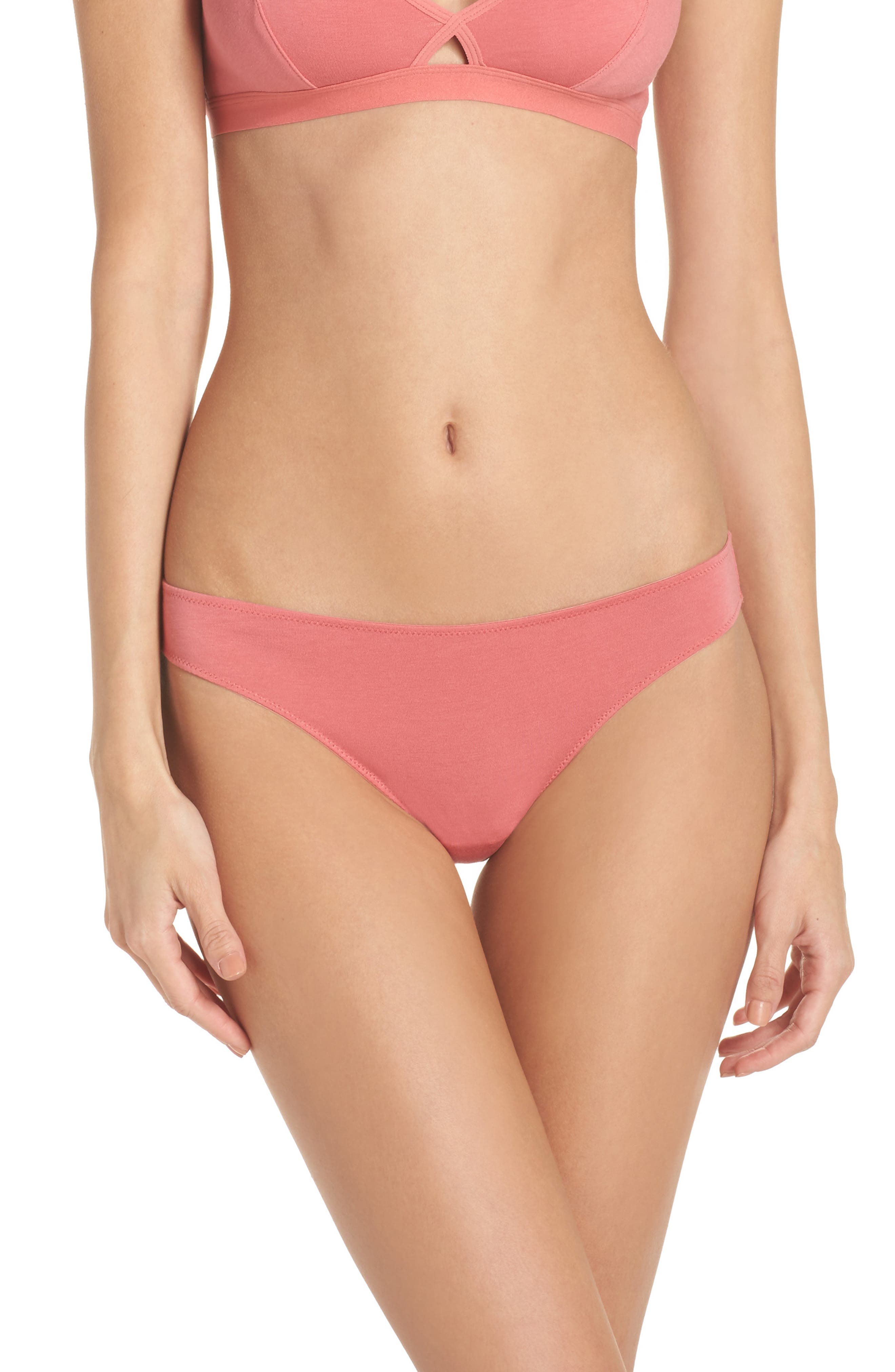 Alternate Image 1 Selected - Madewell Jersey Bikini (3 for $33)