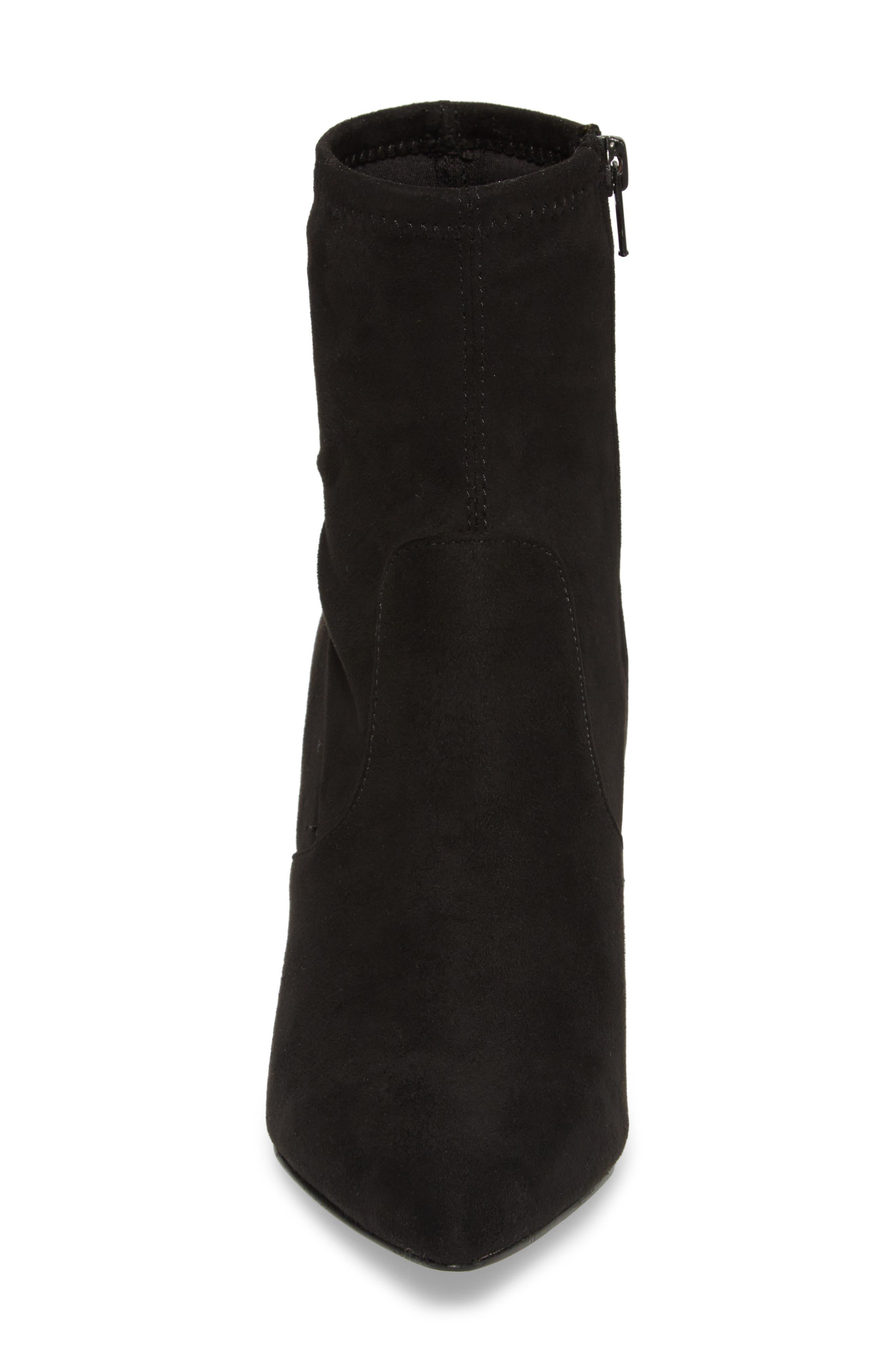 Lava Sock Bootie,                             Alternate thumbnail 4, color,                             Black