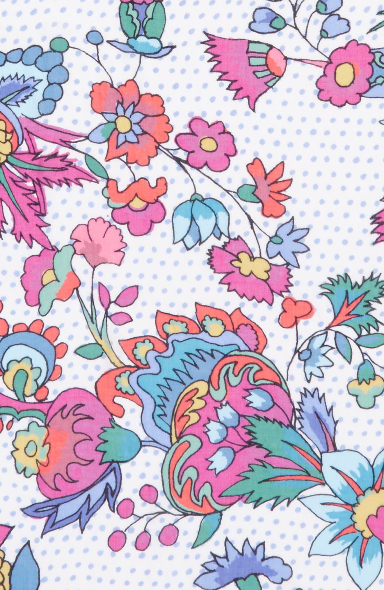 Surat Square Scarf,                             Alternate thumbnail 4, color,                             White