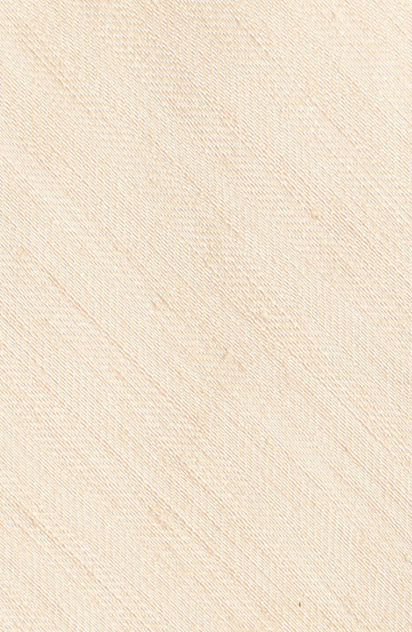 Alternate Image 2  - The Tie Bar Linen Row Linen & Silk Tie (X-Long)
