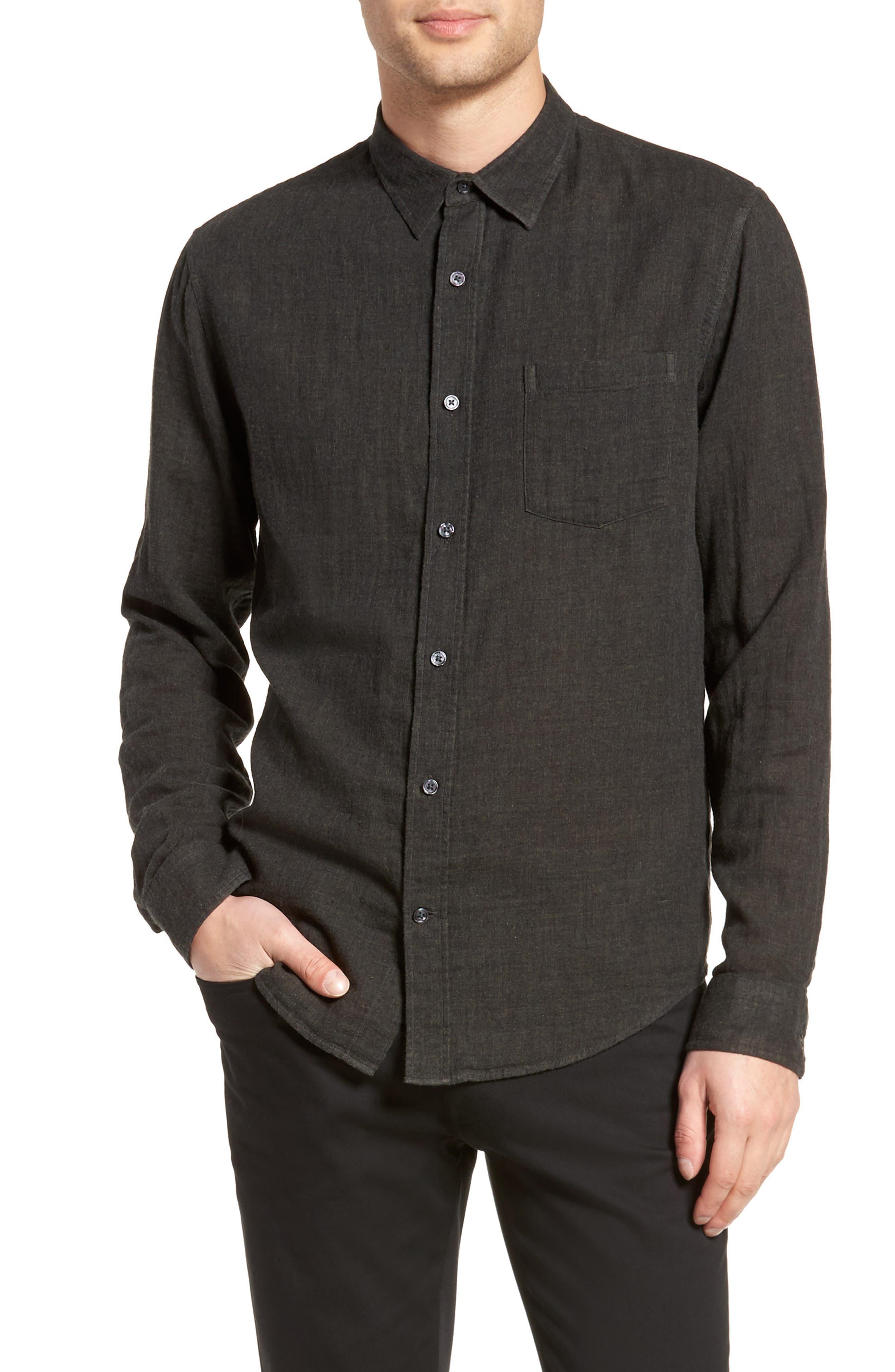 Double Face Sport Shirt,                         Main,                         color, H Underwood