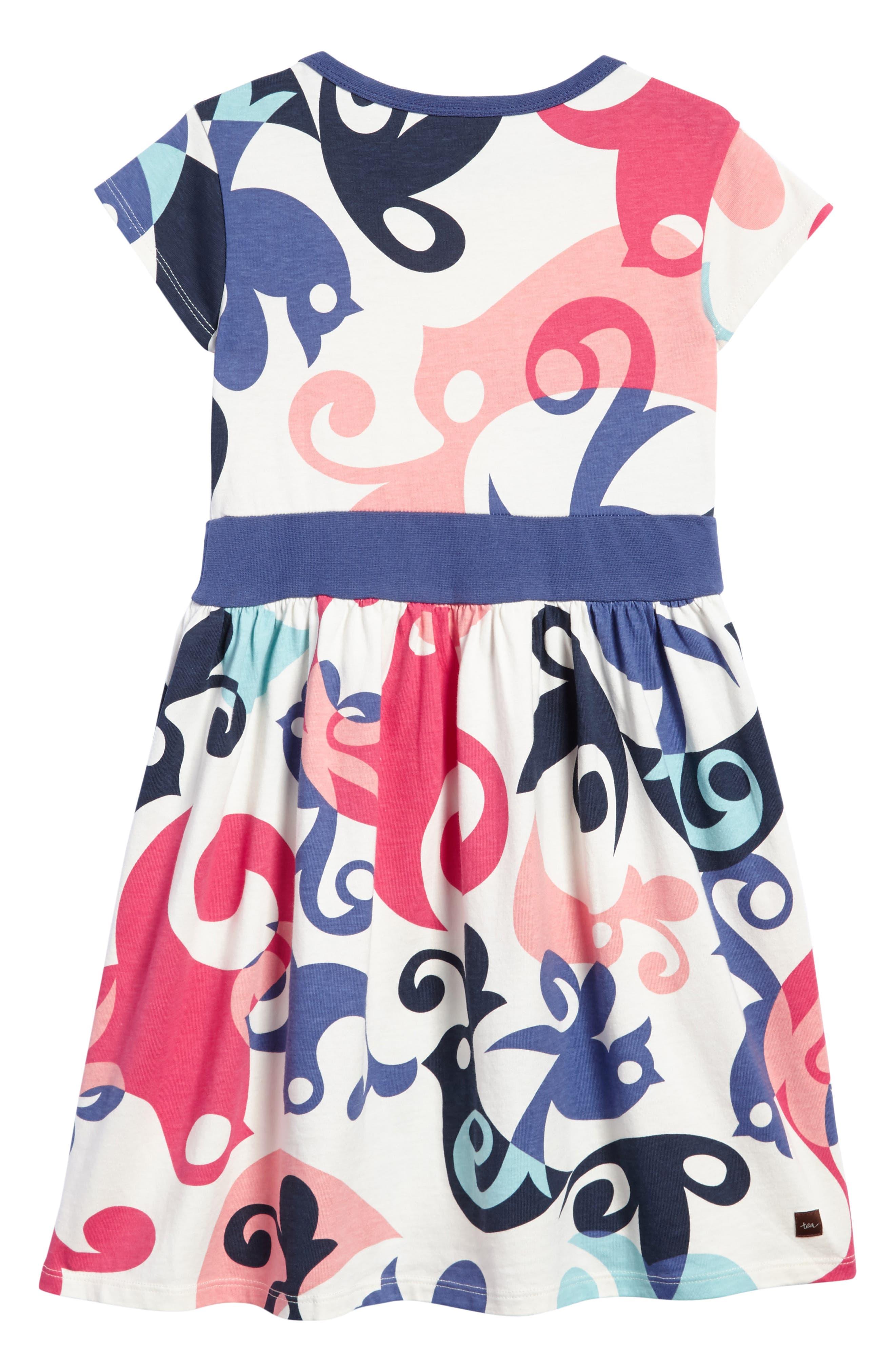 Alternate Image 2  - Tea Collection Tweet Dress (Toddler Girls, Little Girls & Big Girls)