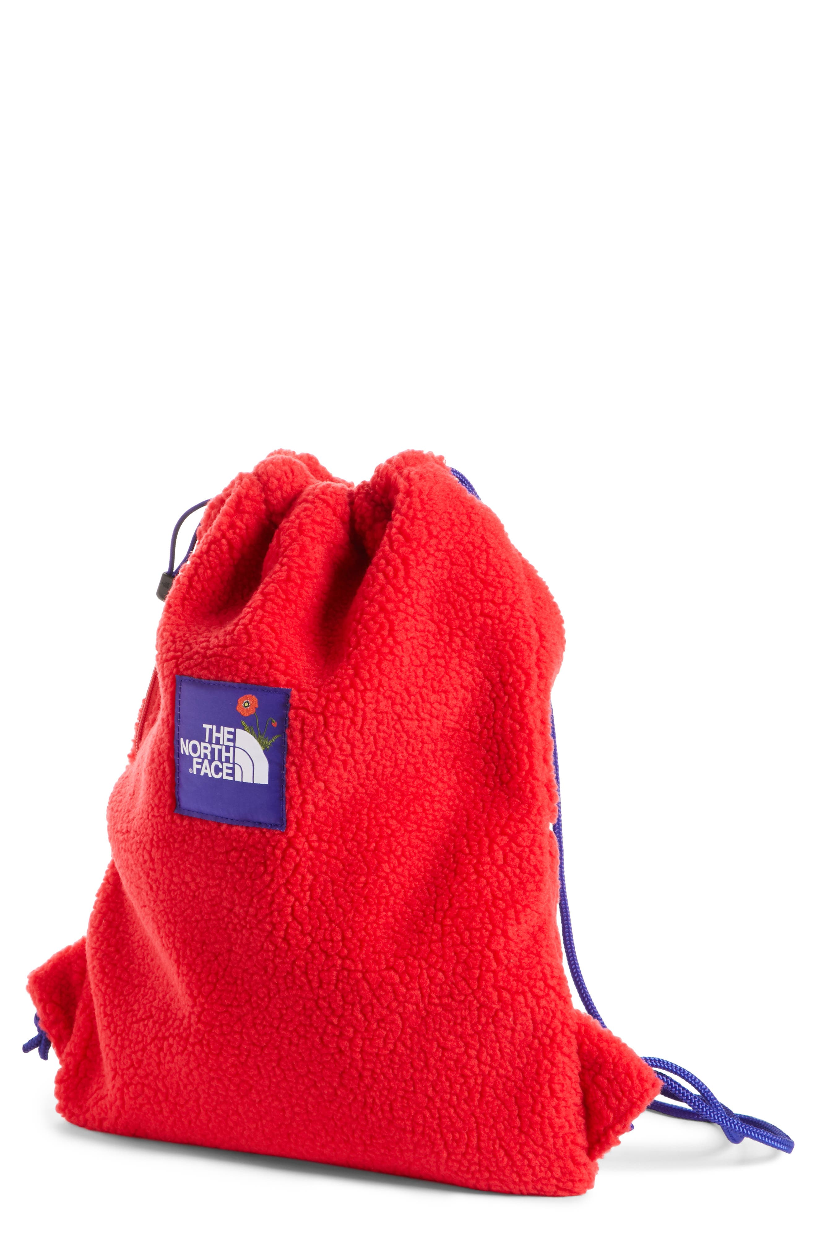 The North Face OK Fuzzy Sack Pack Drawstring Bag