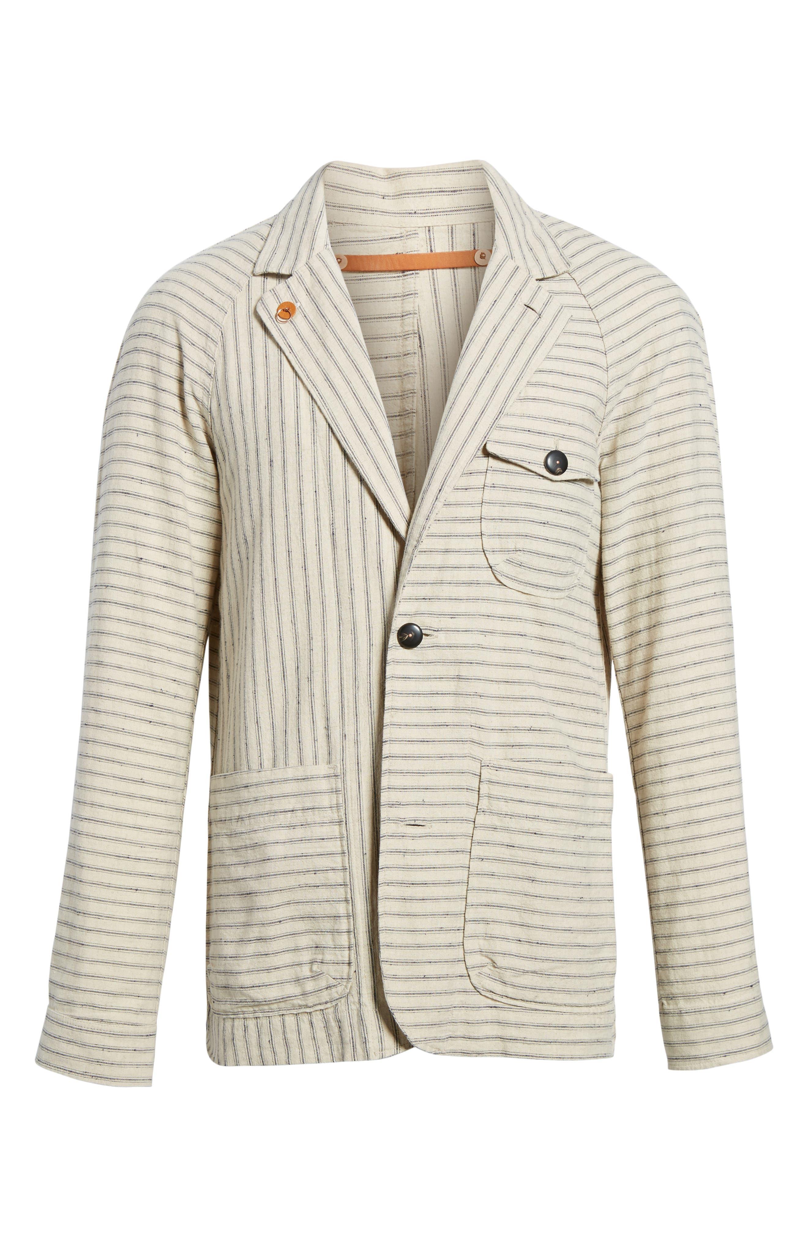 Alternate Image 6  - Billy Reid Harrison Linen & Cotton Jacket