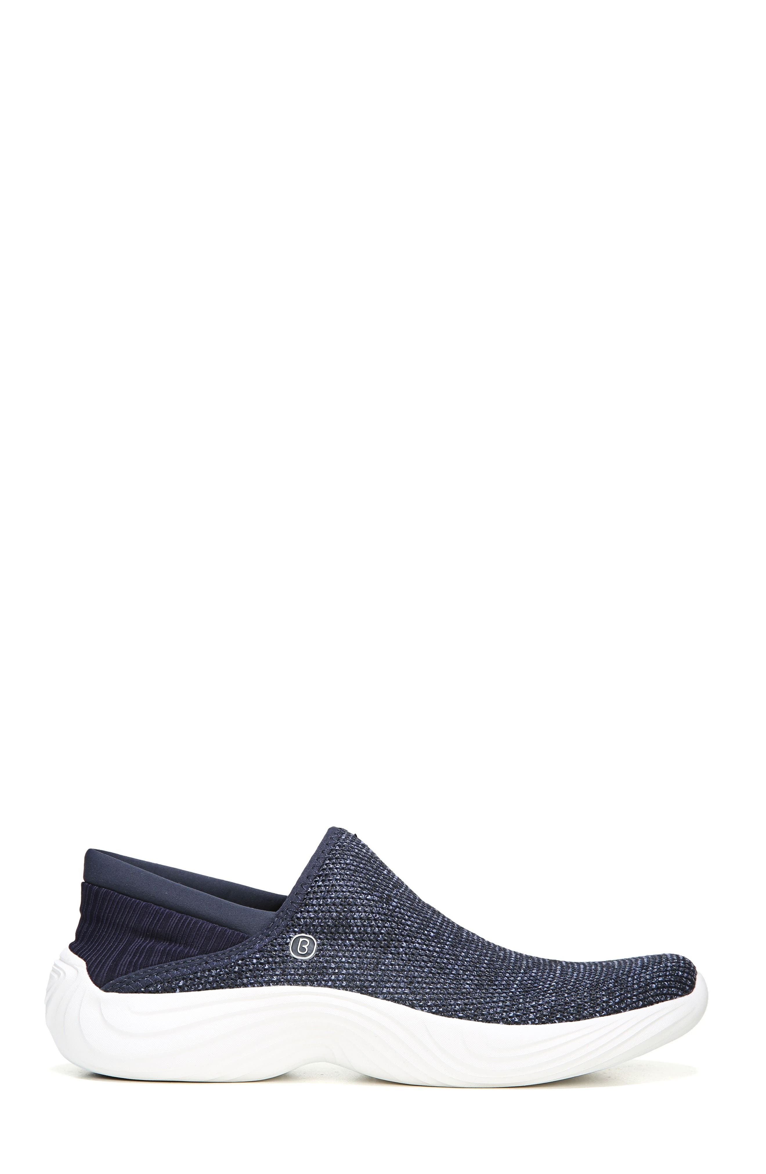 Topaz Slip-On Sneaker,                             Alternate thumbnail 3, color,                             Navy Fabric
