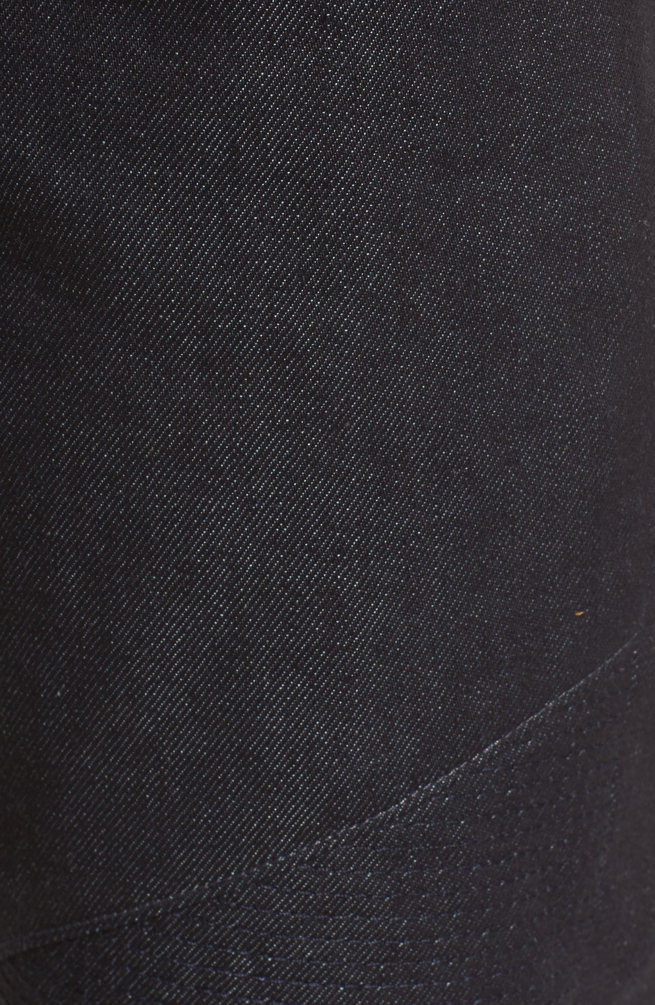 Blinder Biker Skinny Fit Jeans,                             Alternate thumbnail 5, color,                             Raw