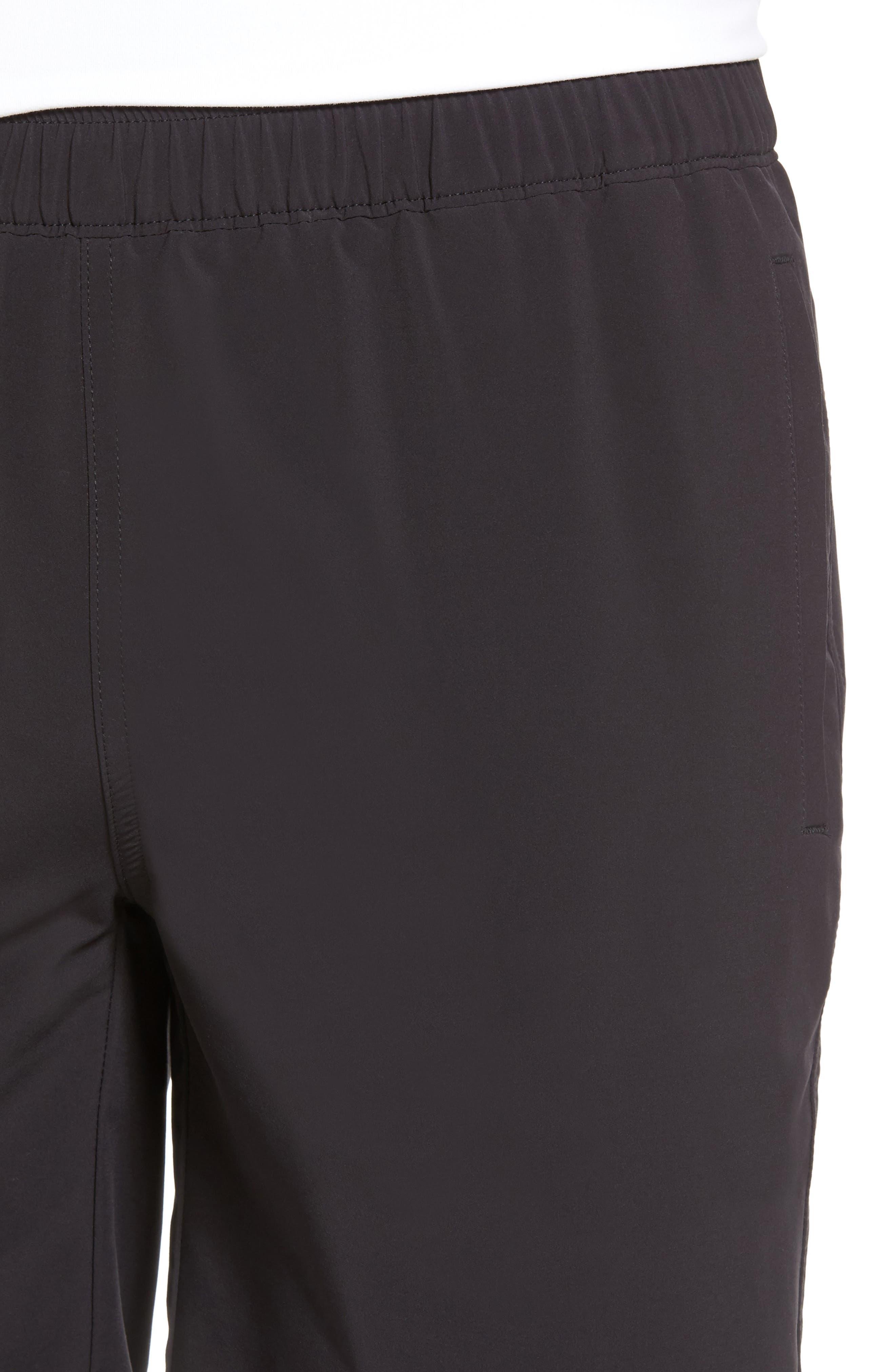 Oslo Sport Shorts,                             Alternate thumbnail 4, color,                             Black