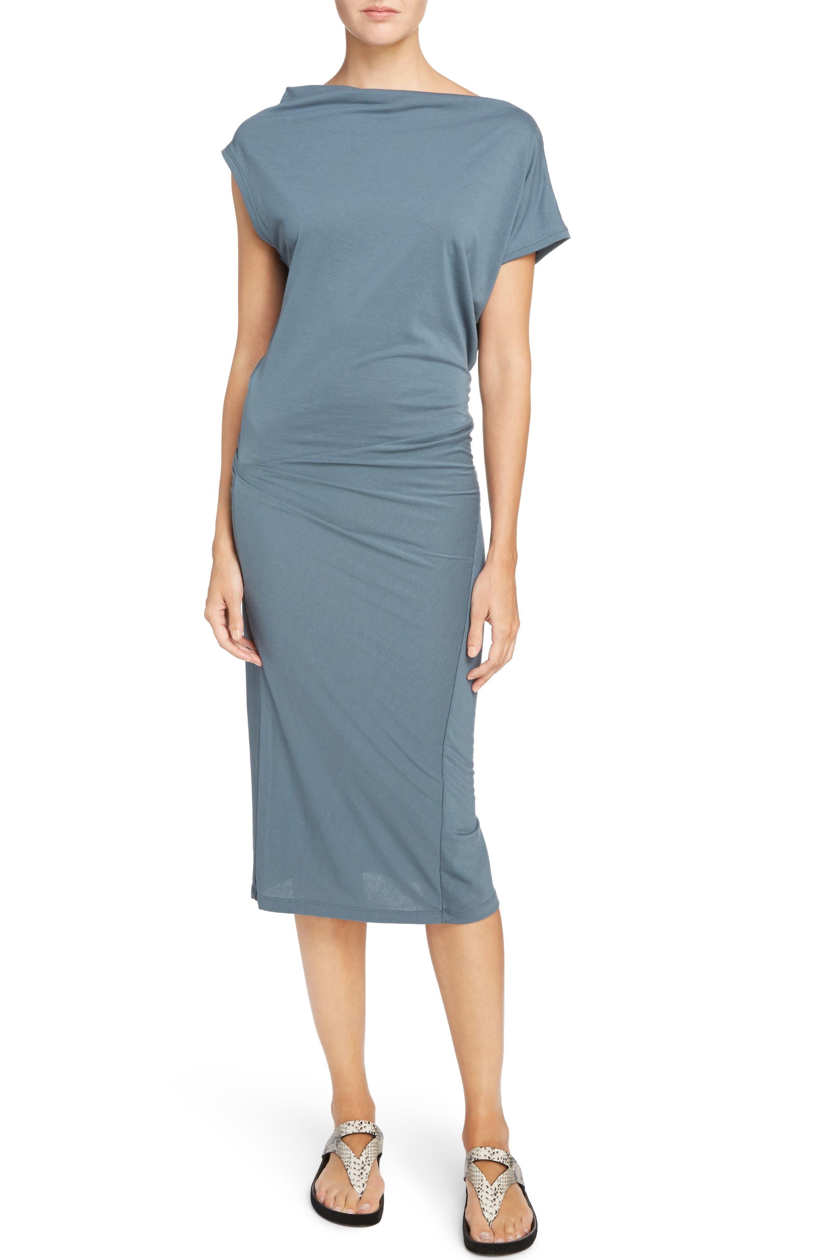 Isabel Marant Étoile Rumba Dress,                             Main thumbnail 1, color,                             Slate Blue