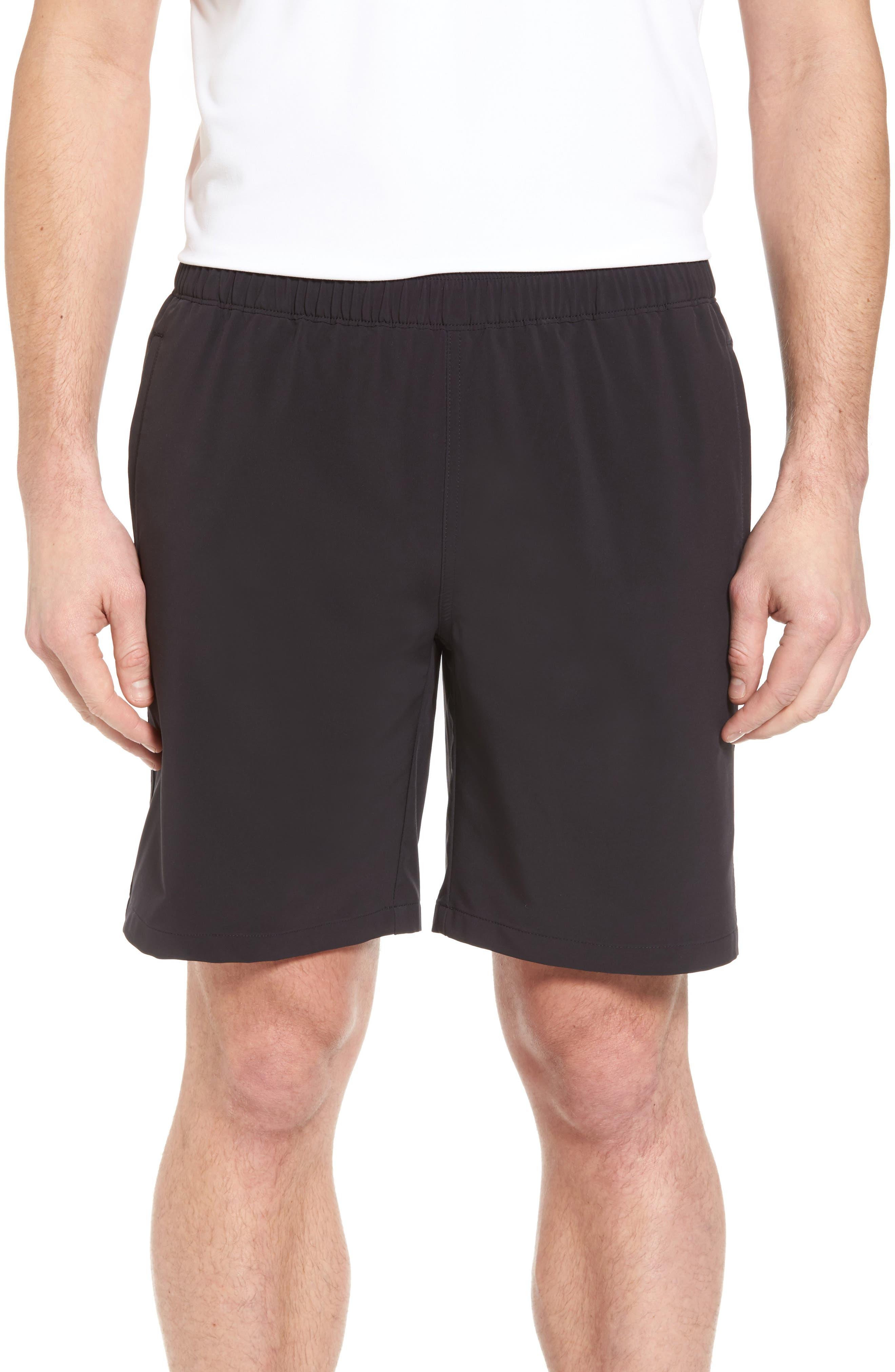 Oslo Sport Shorts,                             Main thumbnail 1, color,                             Black
