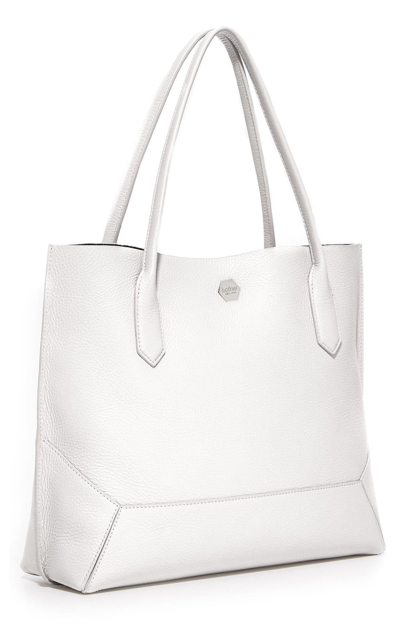 Waverly Leather Tote,                             Alternate thumbnail 2, color,                             Chalk