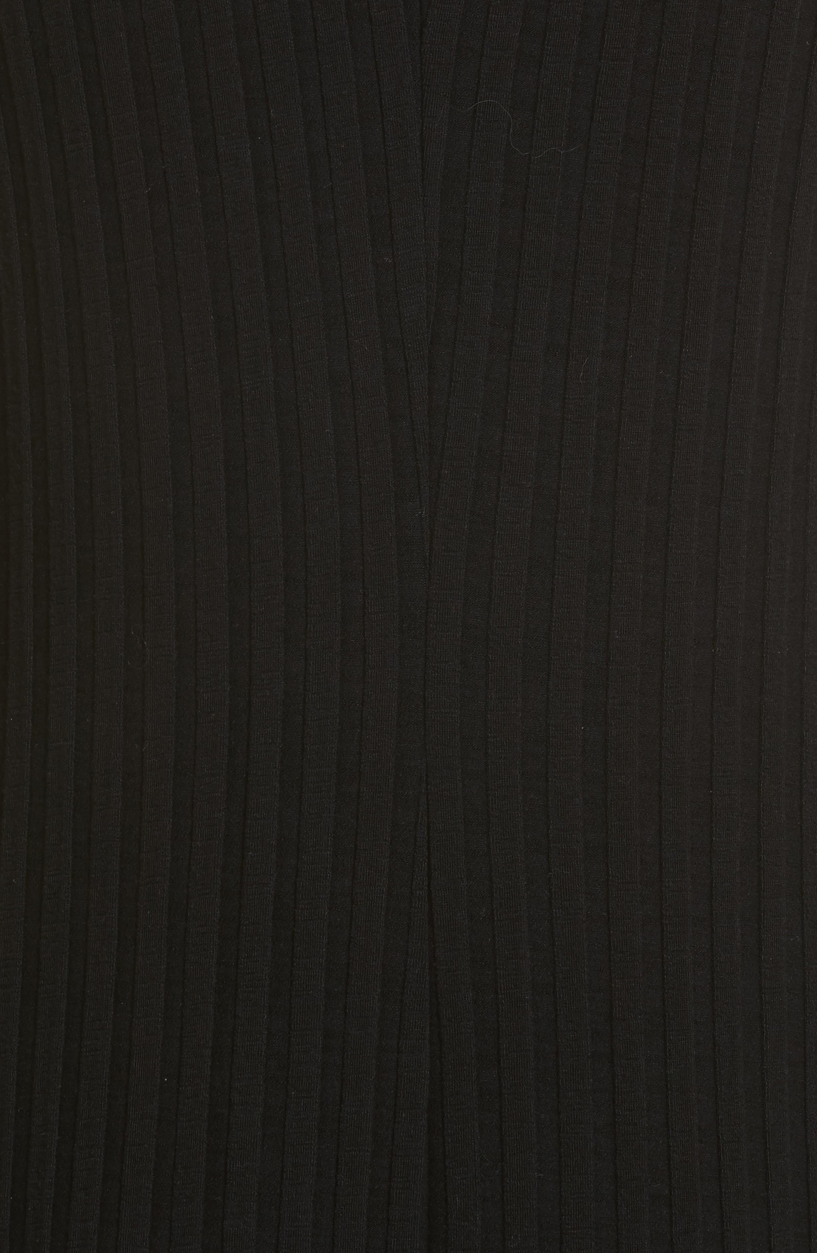 Alternate Image 5  - Simon Miller Tali Stretch Ribbed Body-Con Dress