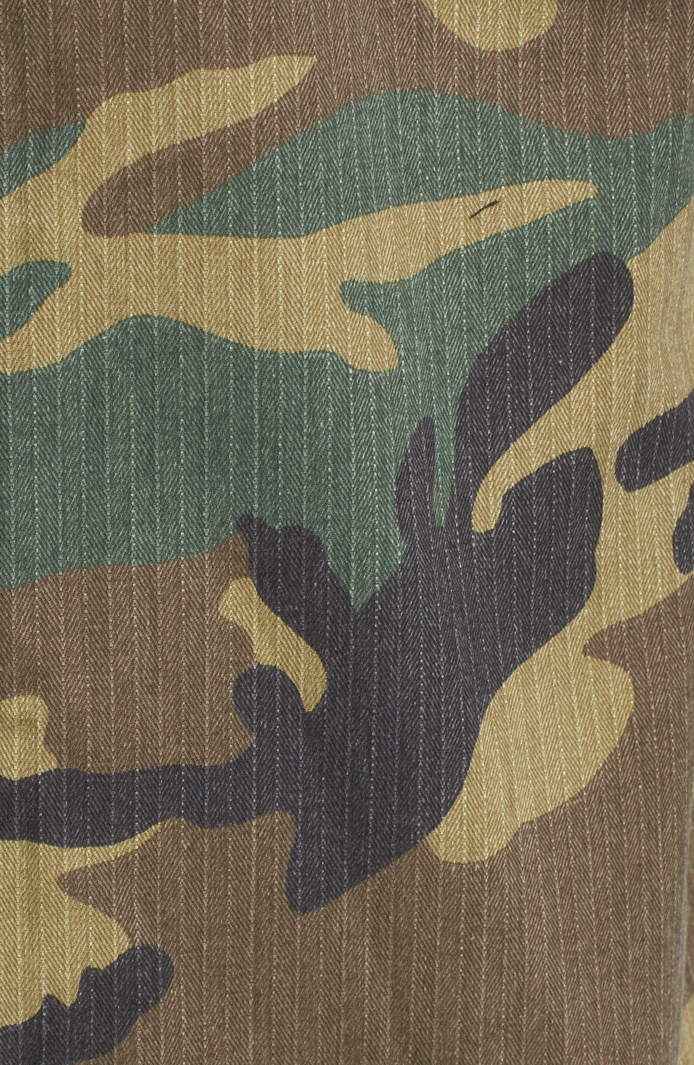 F-2 French Field Jacket,                             Alternate thumbnail 5, color,                             Woodland Camo