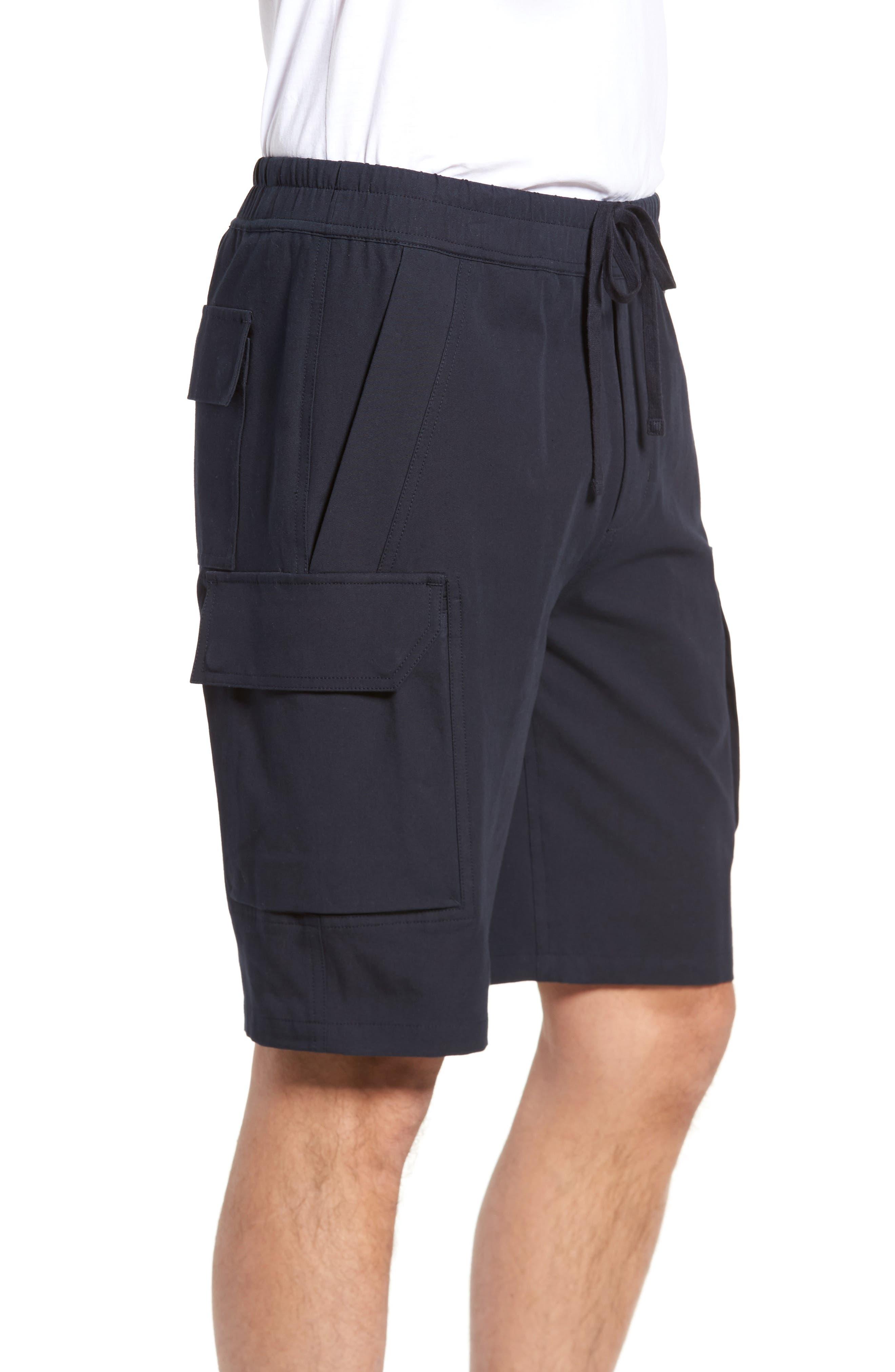 Regular Fit Drawstring Shorts,                             Alternate thumbnail 4, color,                             New Coastal