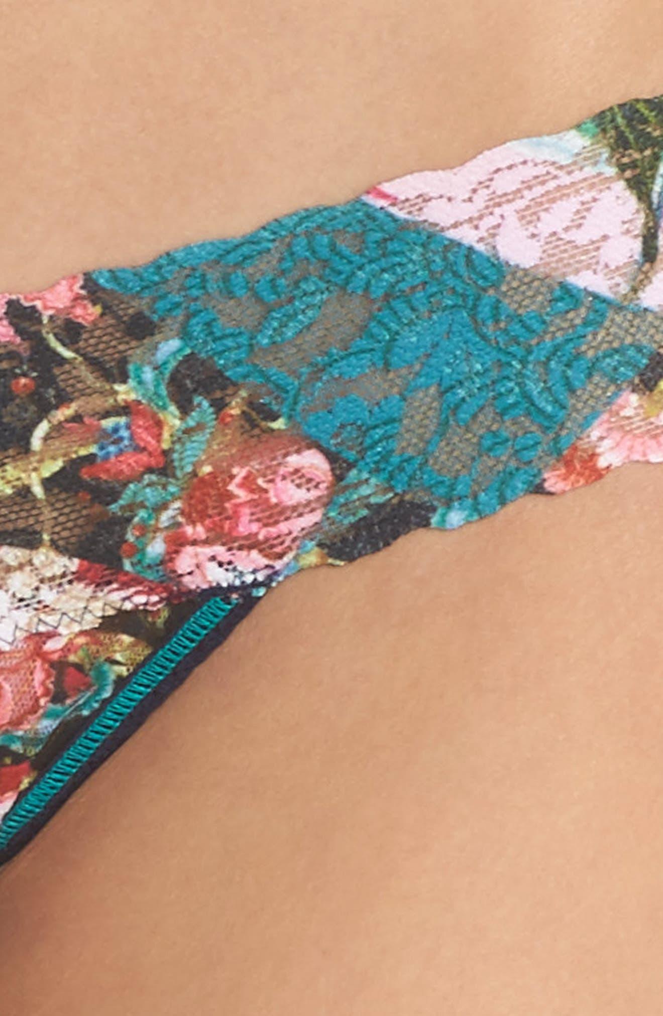 Keiko Low Rise Thong,                             Alternate thumbnail 5, color,                             Multi