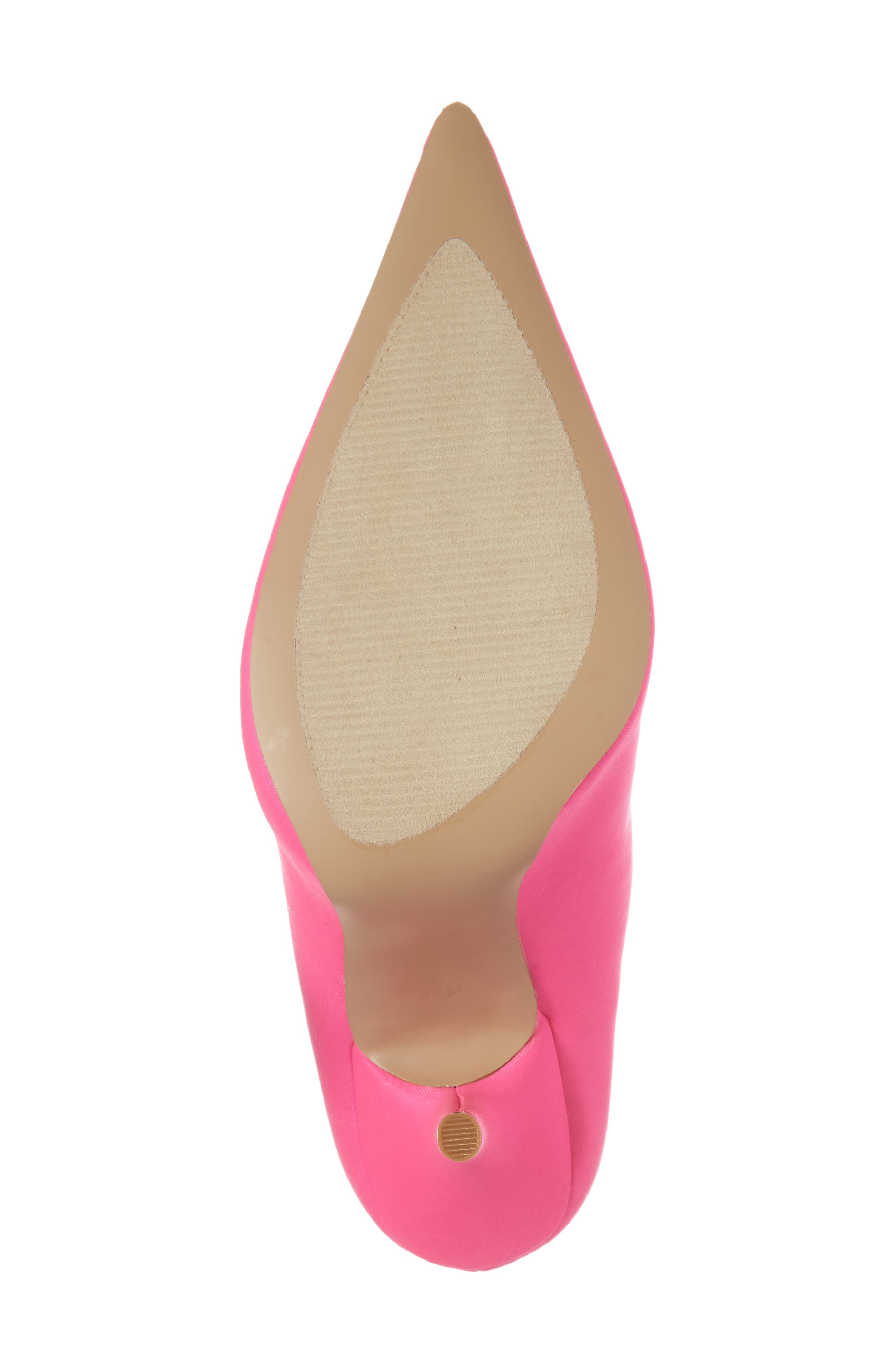 Mimi Stretch Bootie,                             Alternate thumbnail 6, color,                             Pink Faux Leather