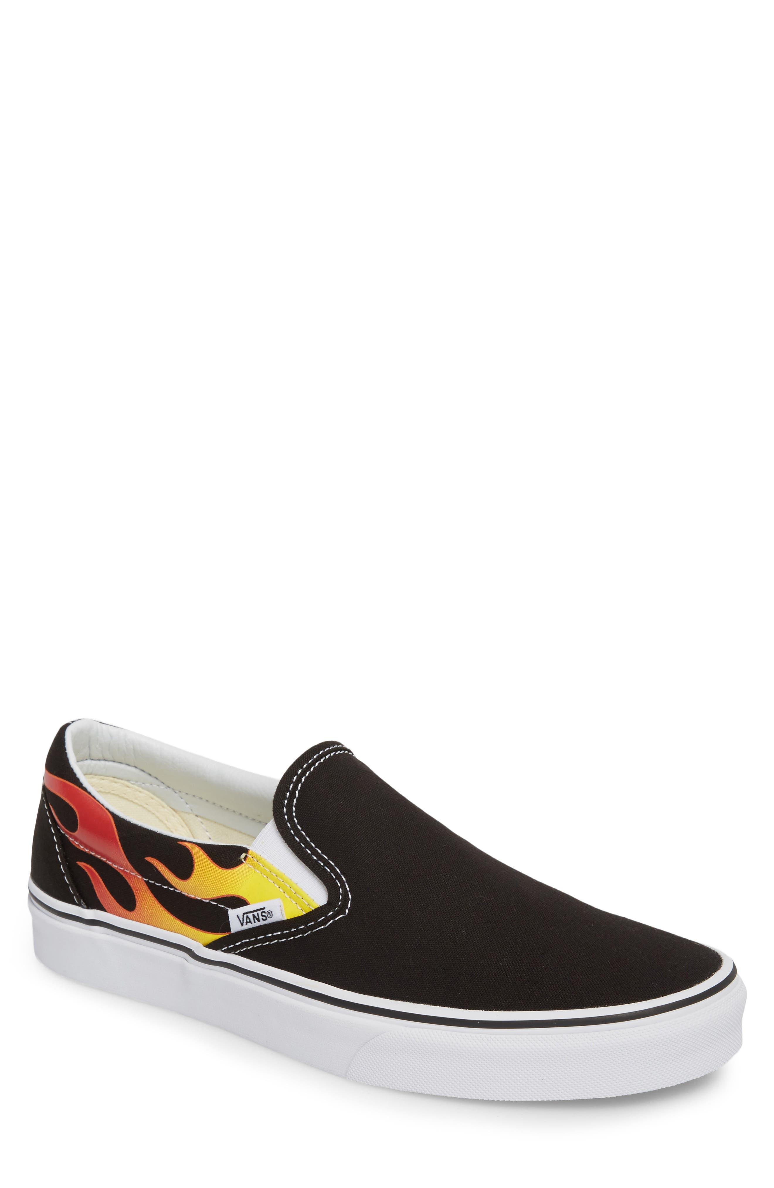 UA Classic Slip-On Sneaker,                             Main thumbnail 1, color,                             Black/ Black/ True White