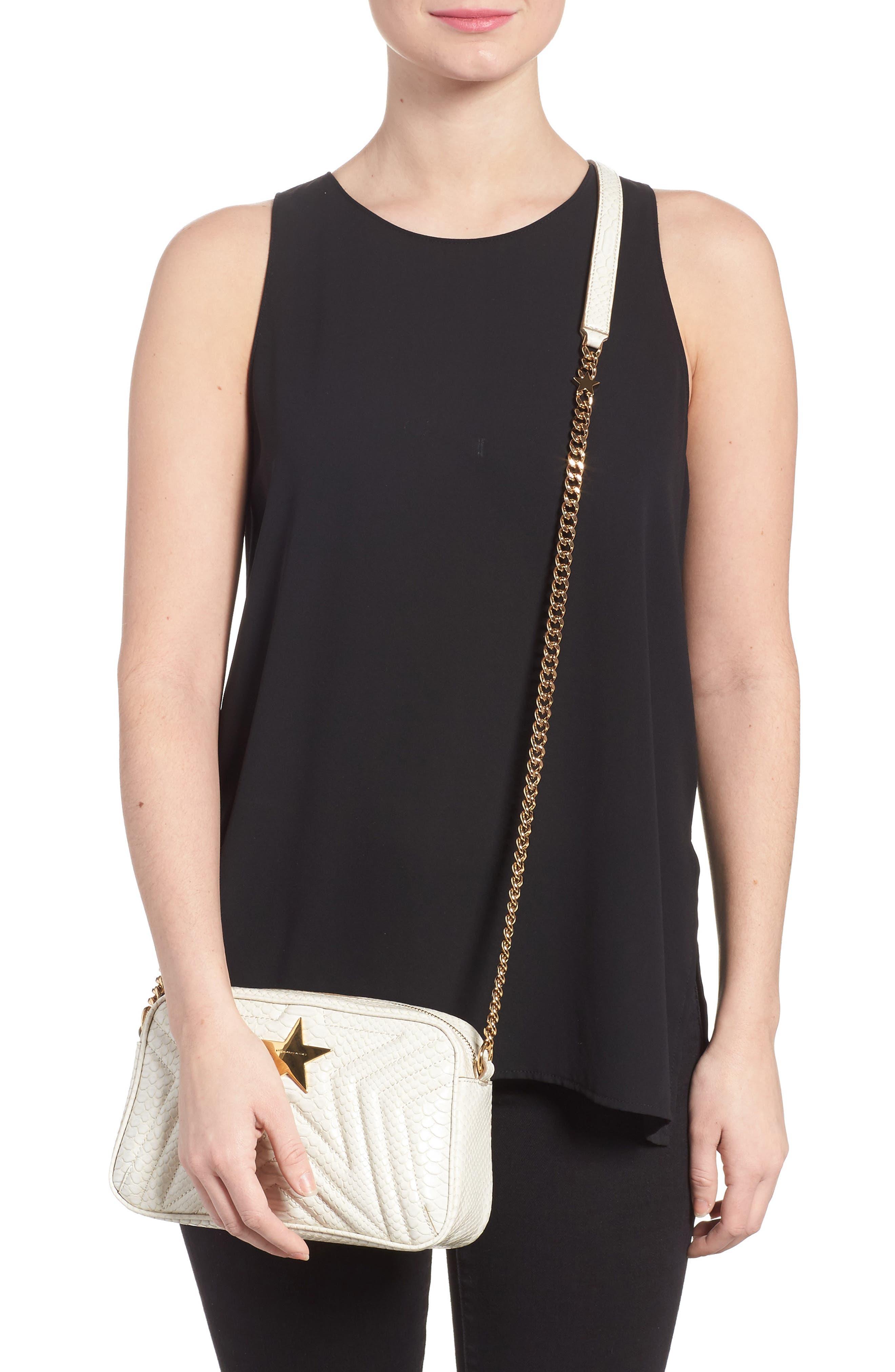 Alternate Image 2  - Stella McCartney Alter Snake Faux Leather Shoulder Bag