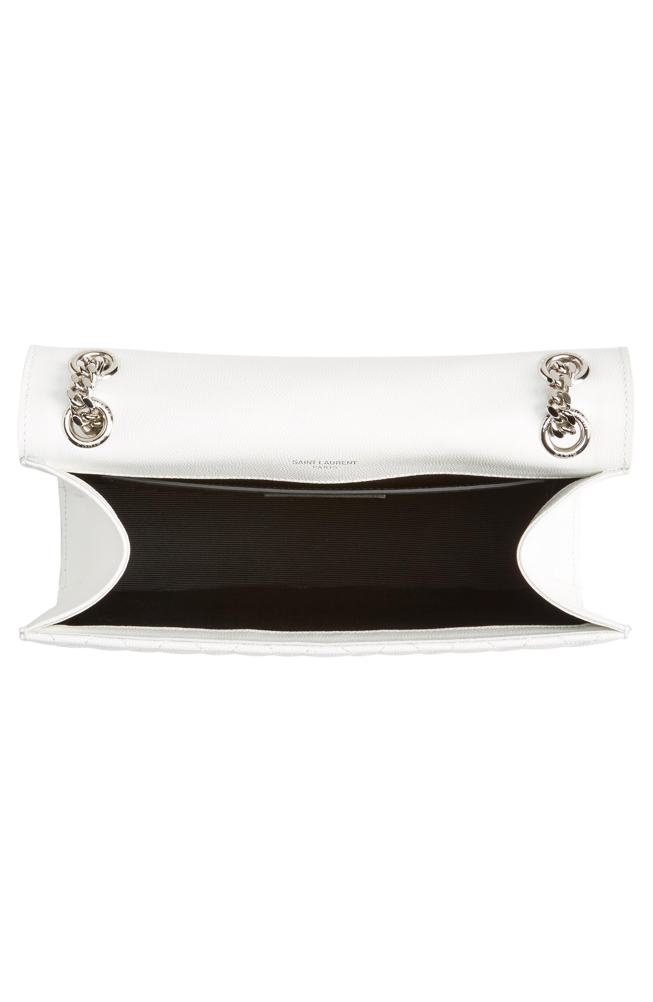 Alternate Image 5  - Saint Laurent Medium Calfskin Shoulder Bag