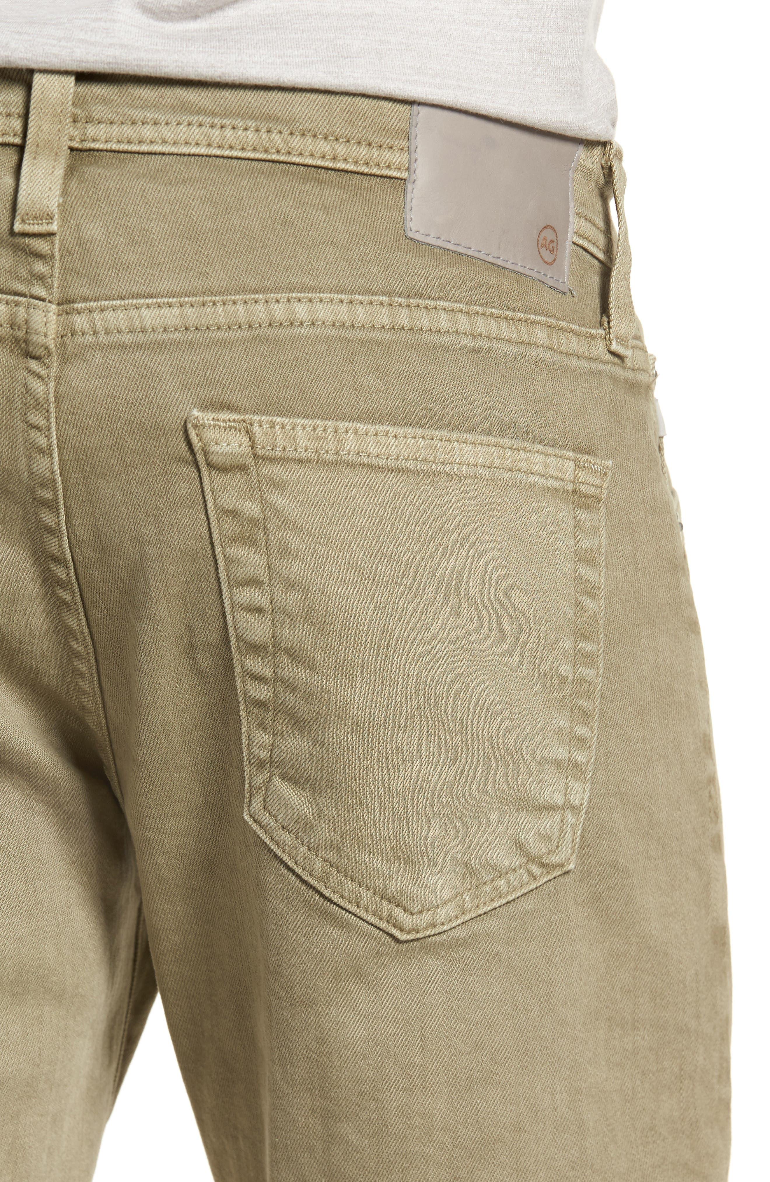 Alternate Image 4  - AG Tellis Slim Fit Jeans (7 Years Dry Cypress)