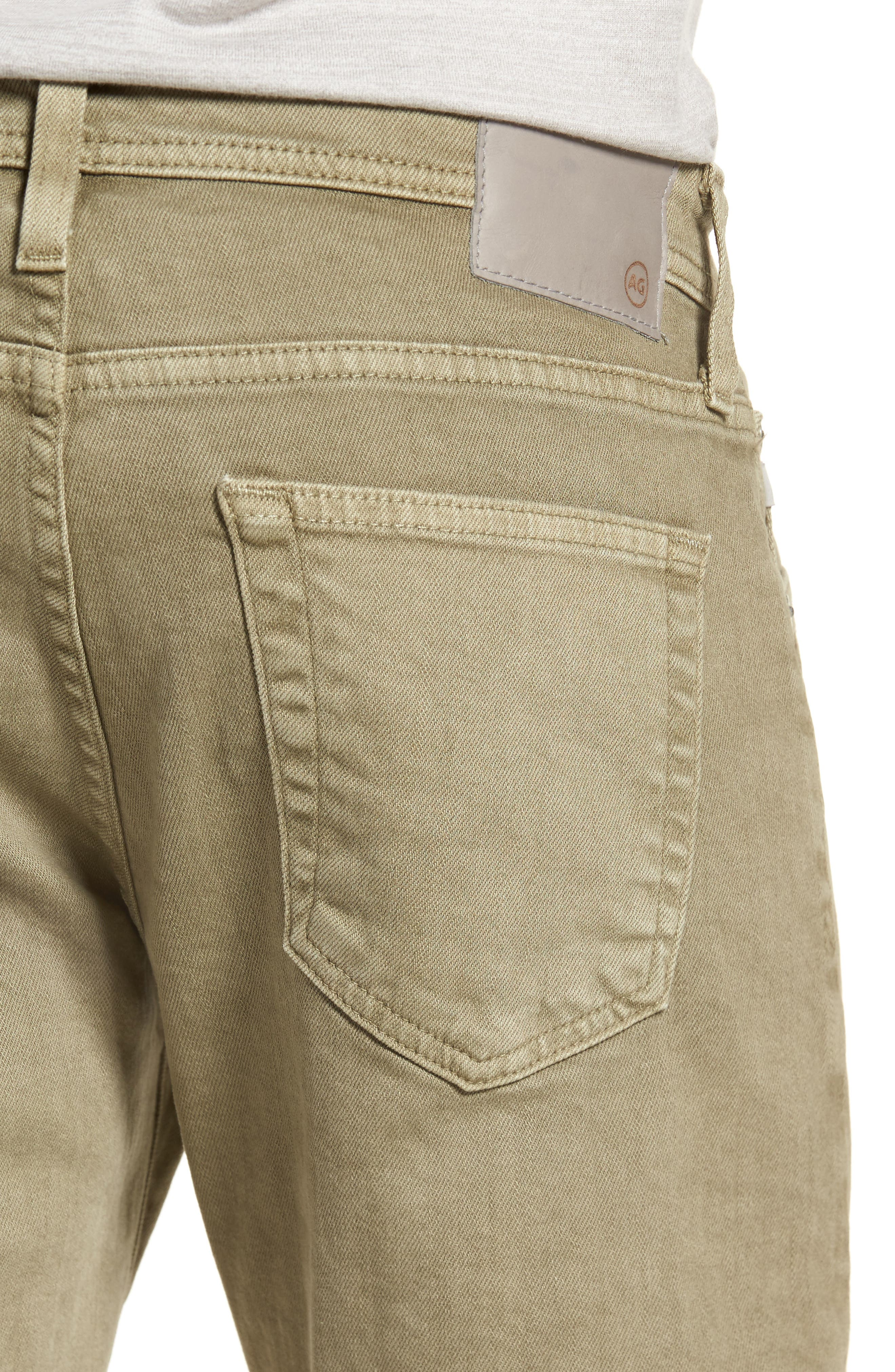Tellis Slim Fit Jeans,                             Alternate thumbnail 4, color,                             7 Years Dry Cypress