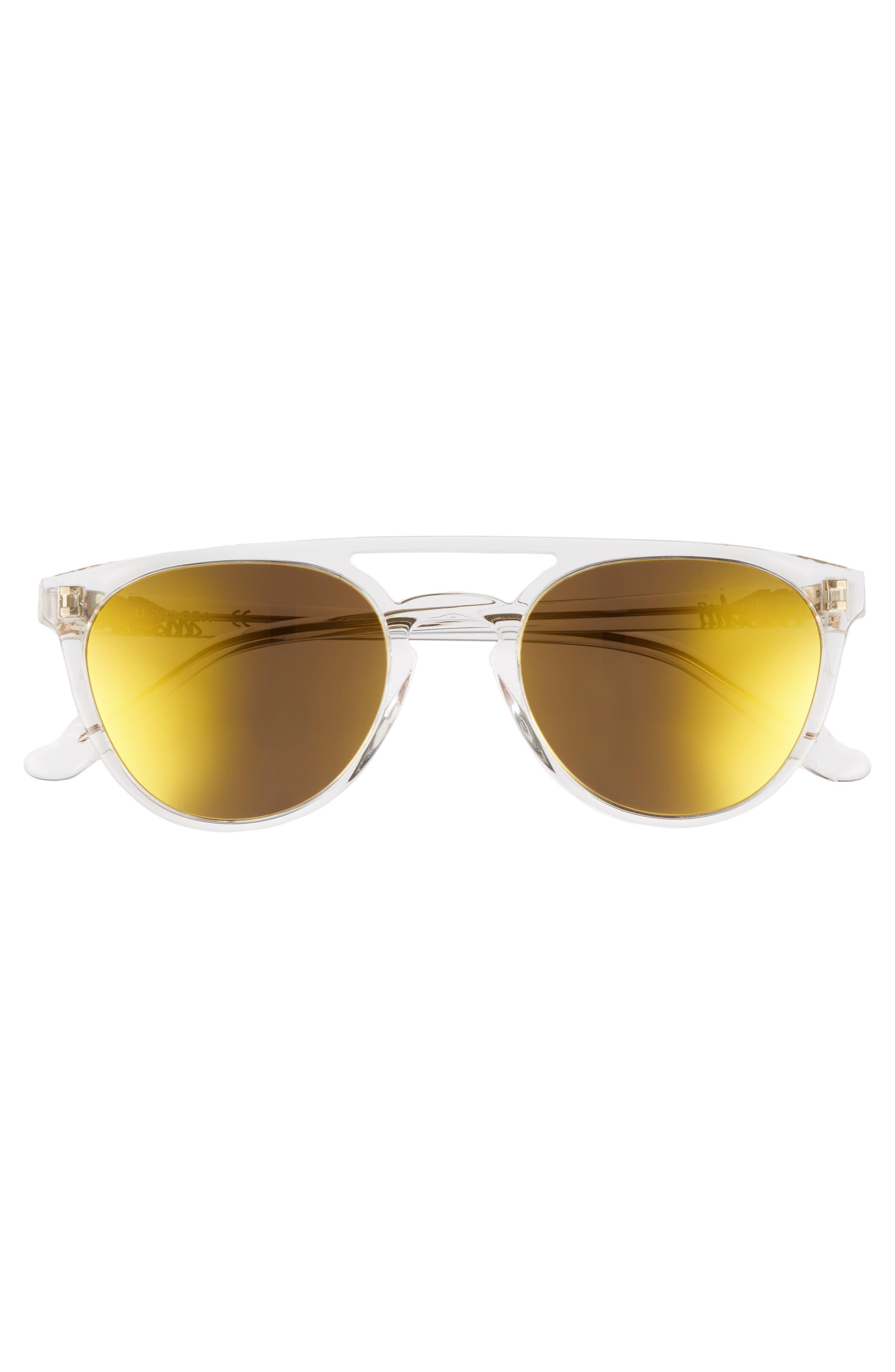 Alternate Image 3  - Maho Reykjavík 49mm Polarized Round Sunglasses