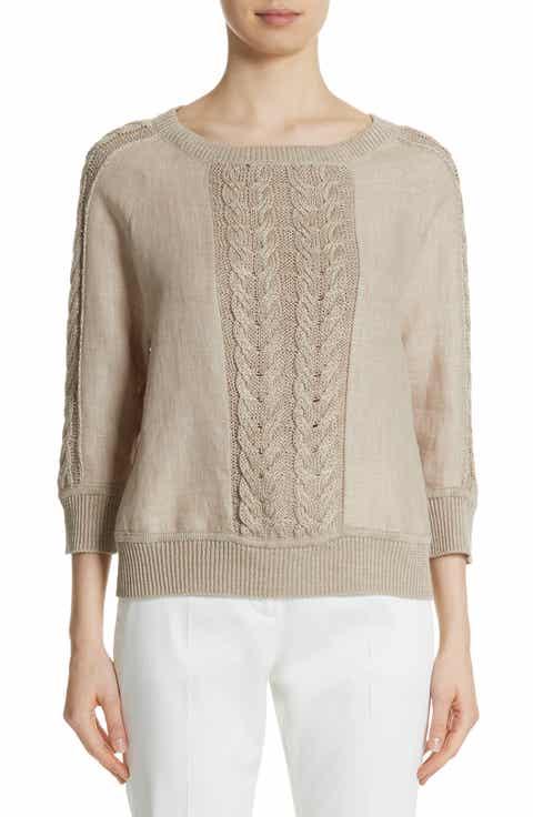 Max Mara Albero Linen Sweater