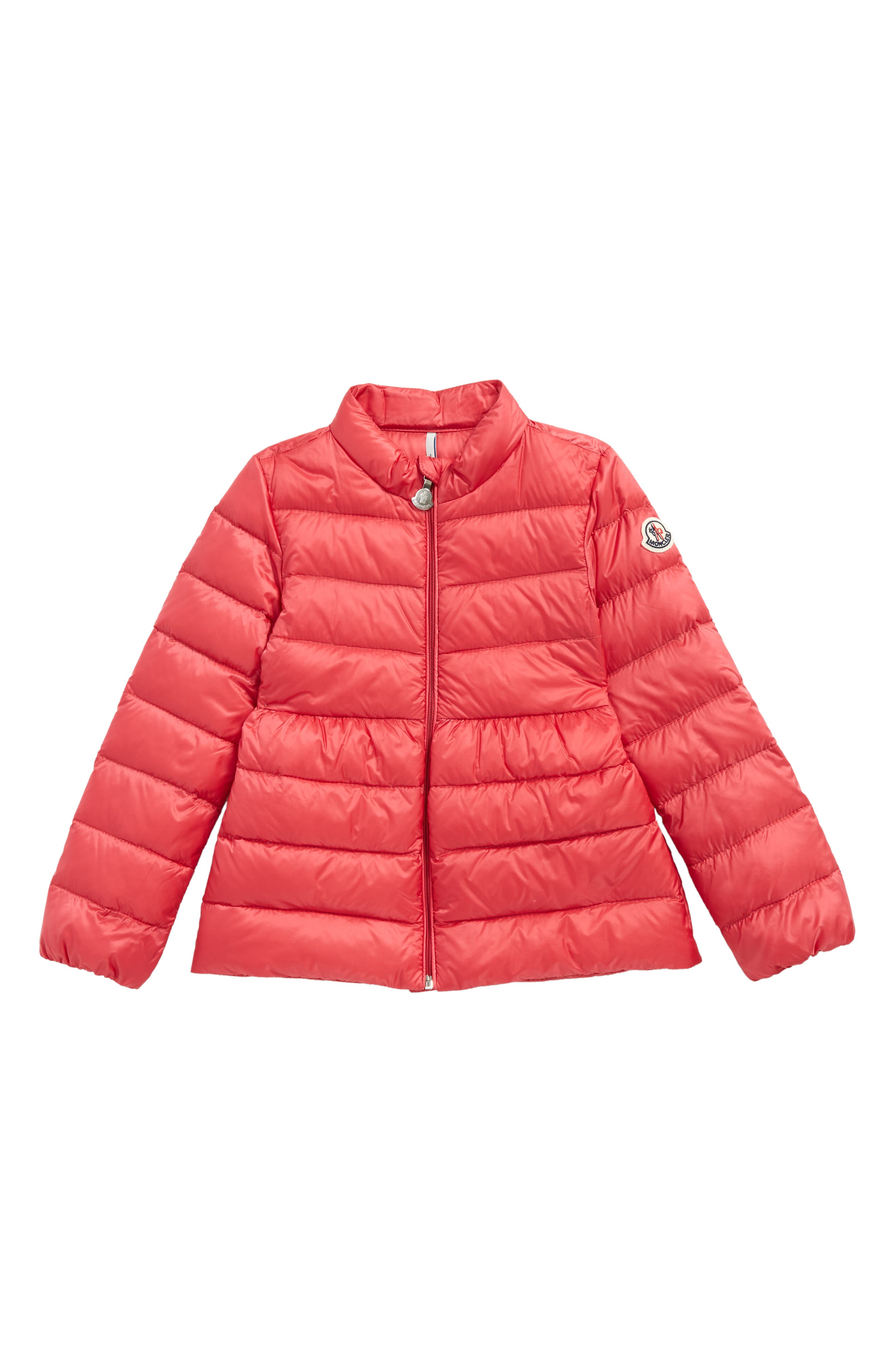 Alternate Image 1 Selected - Moncler Joelle Goose Down Coat (Toddler Girls)