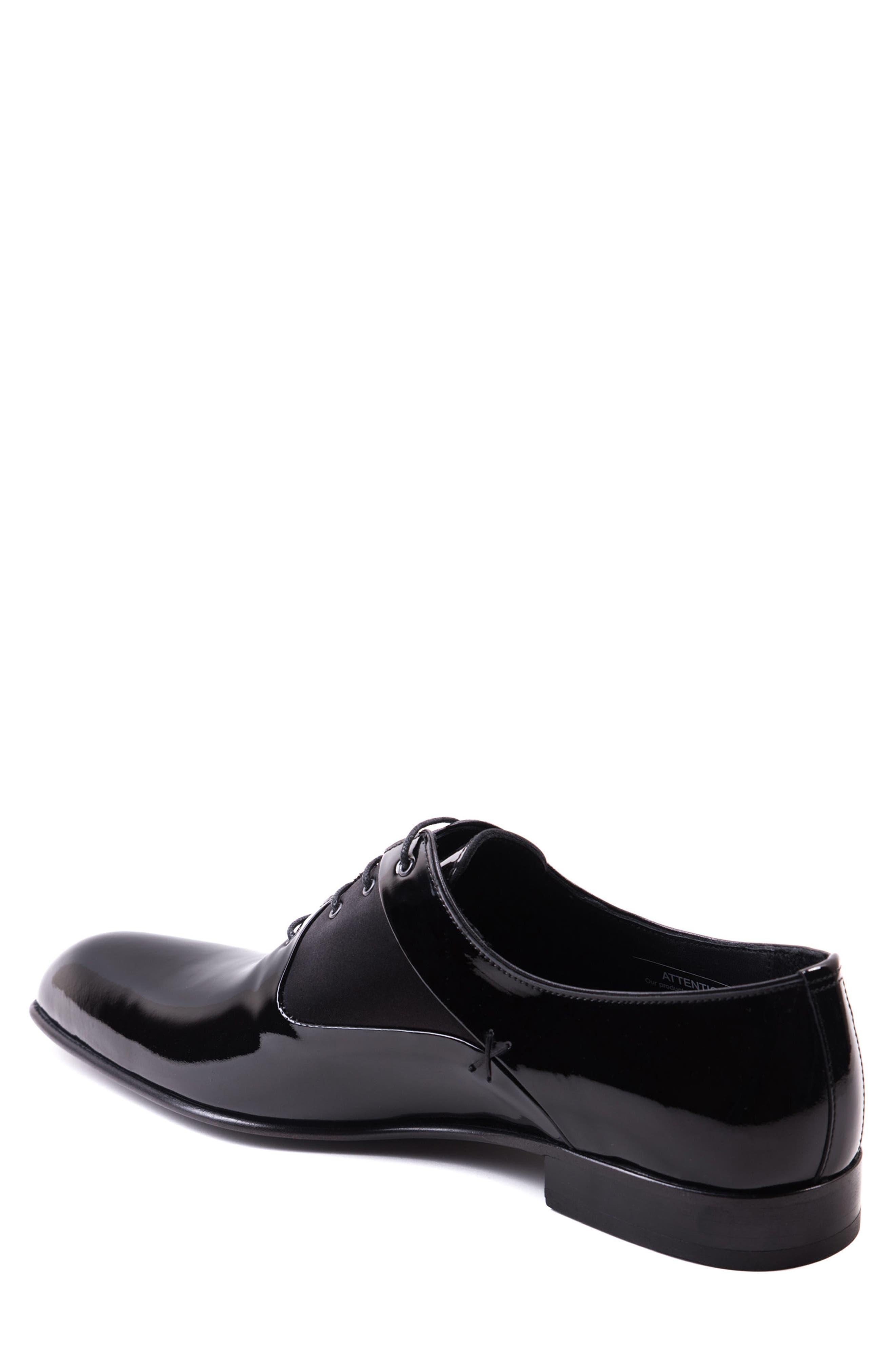 Ricci Plain Toe Oxford,                             Alternate thumbnail 2, color,                             Black