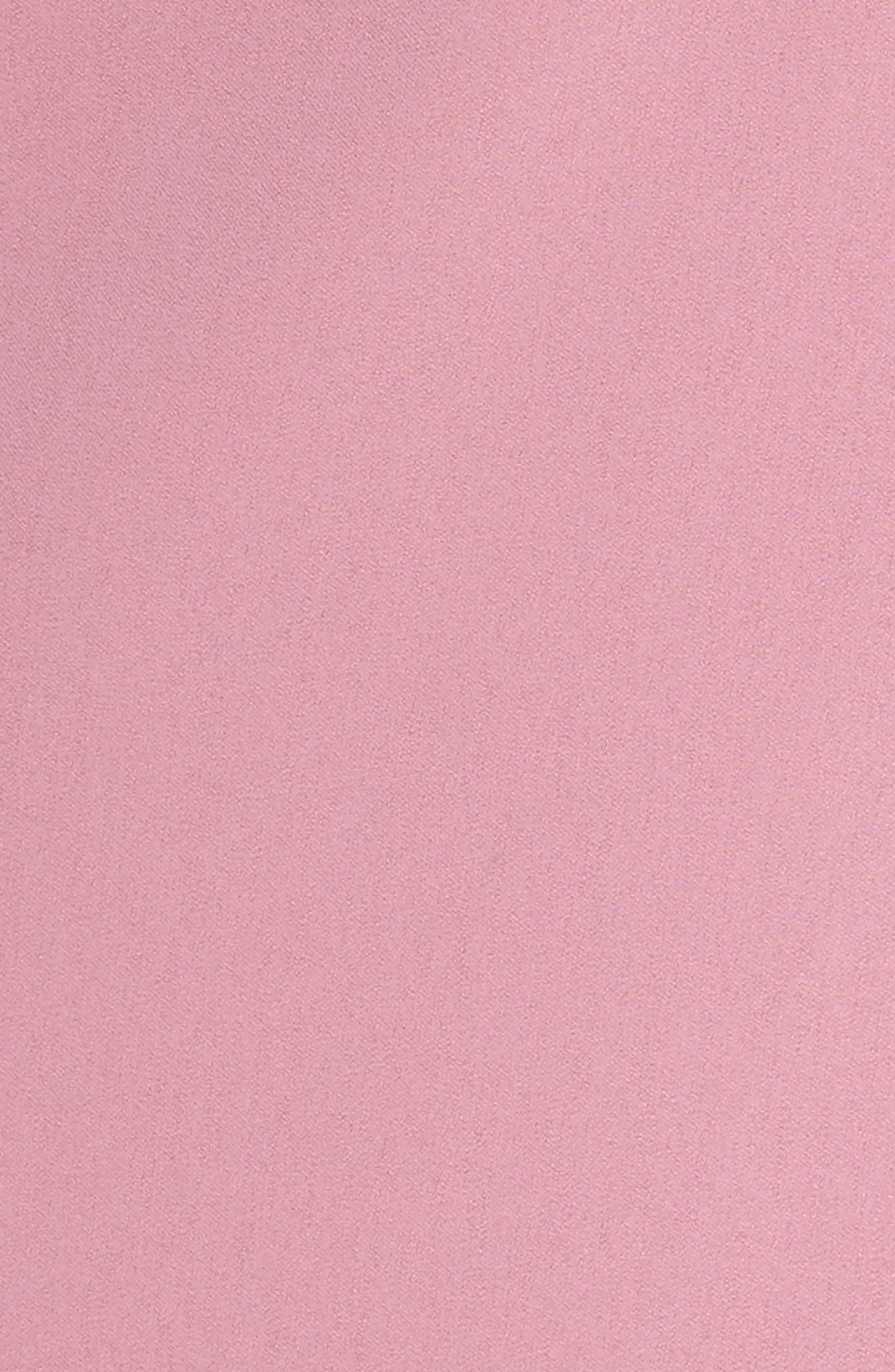 Temptation Ruffle Cold Shoulder Dress,                             Alternate thumbnail 6, color,                             Mulberry