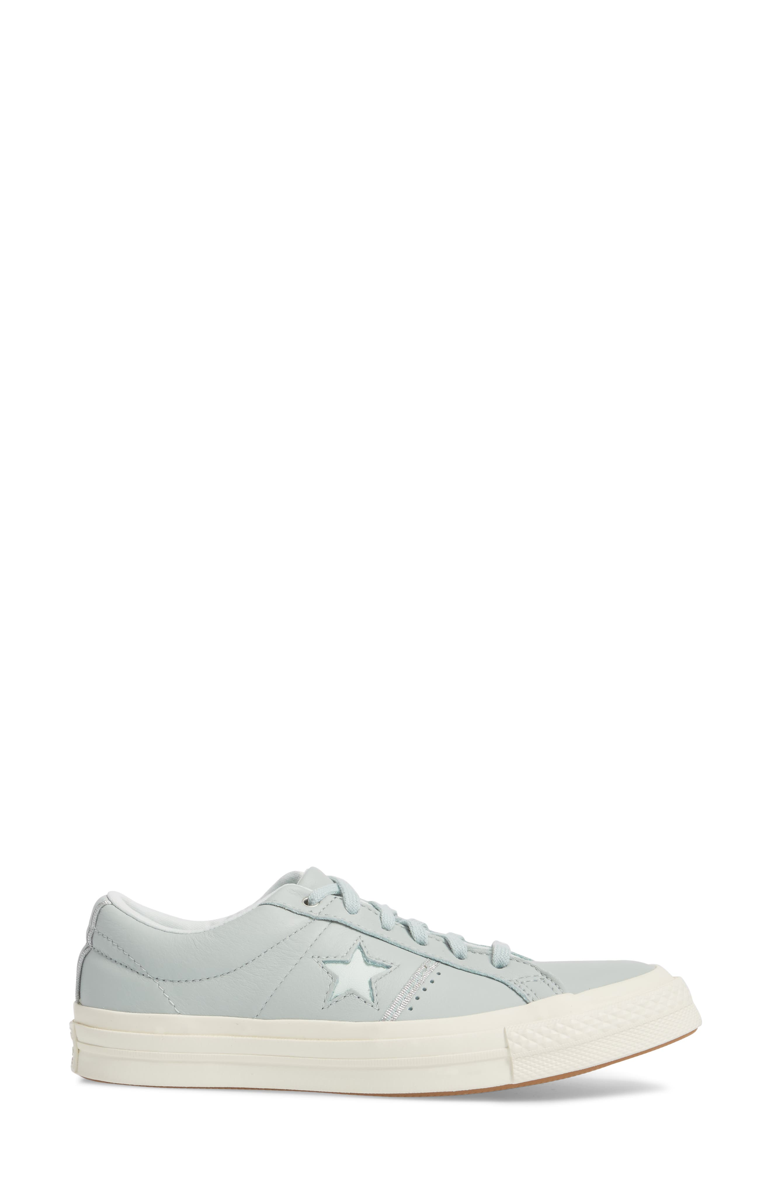 One Star Piping Sneaker,                             Alternate thumbnail 3, color,                             Dried Bamboo