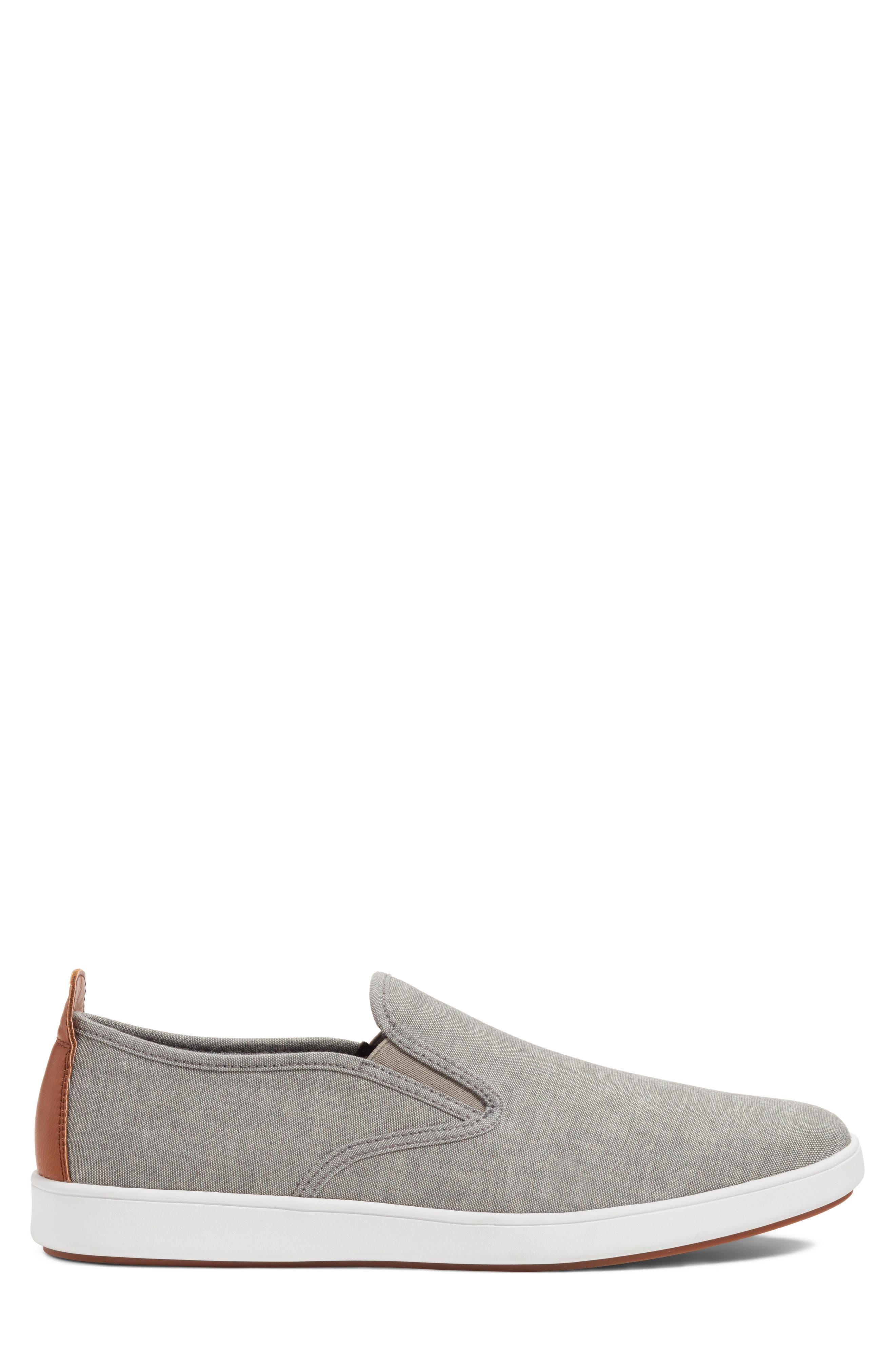 Felix Slip-On Sneaker,                             Alternate thumbnail 3, color,                             Grey