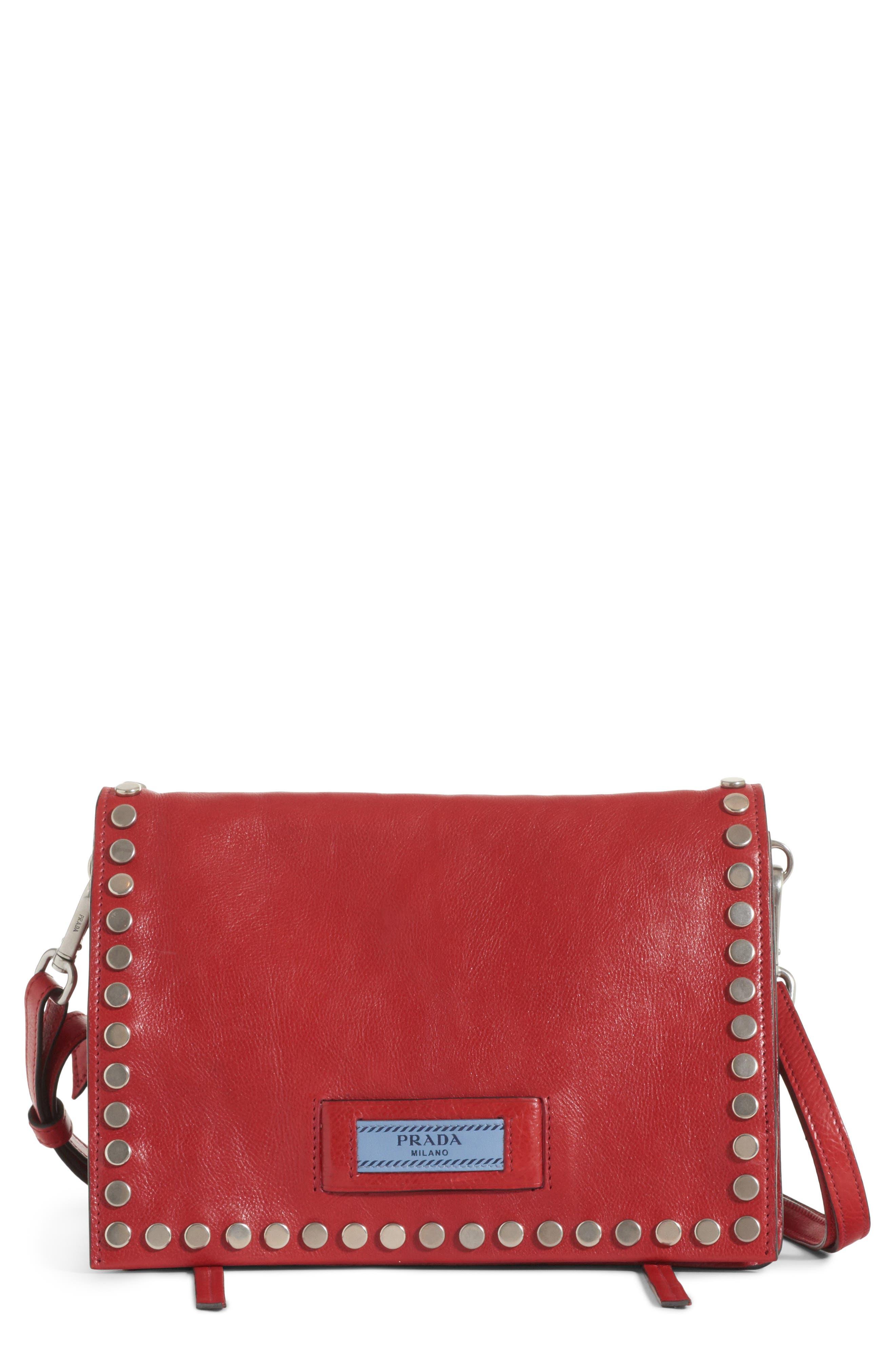 Prada Small Etiquette Patch Bag