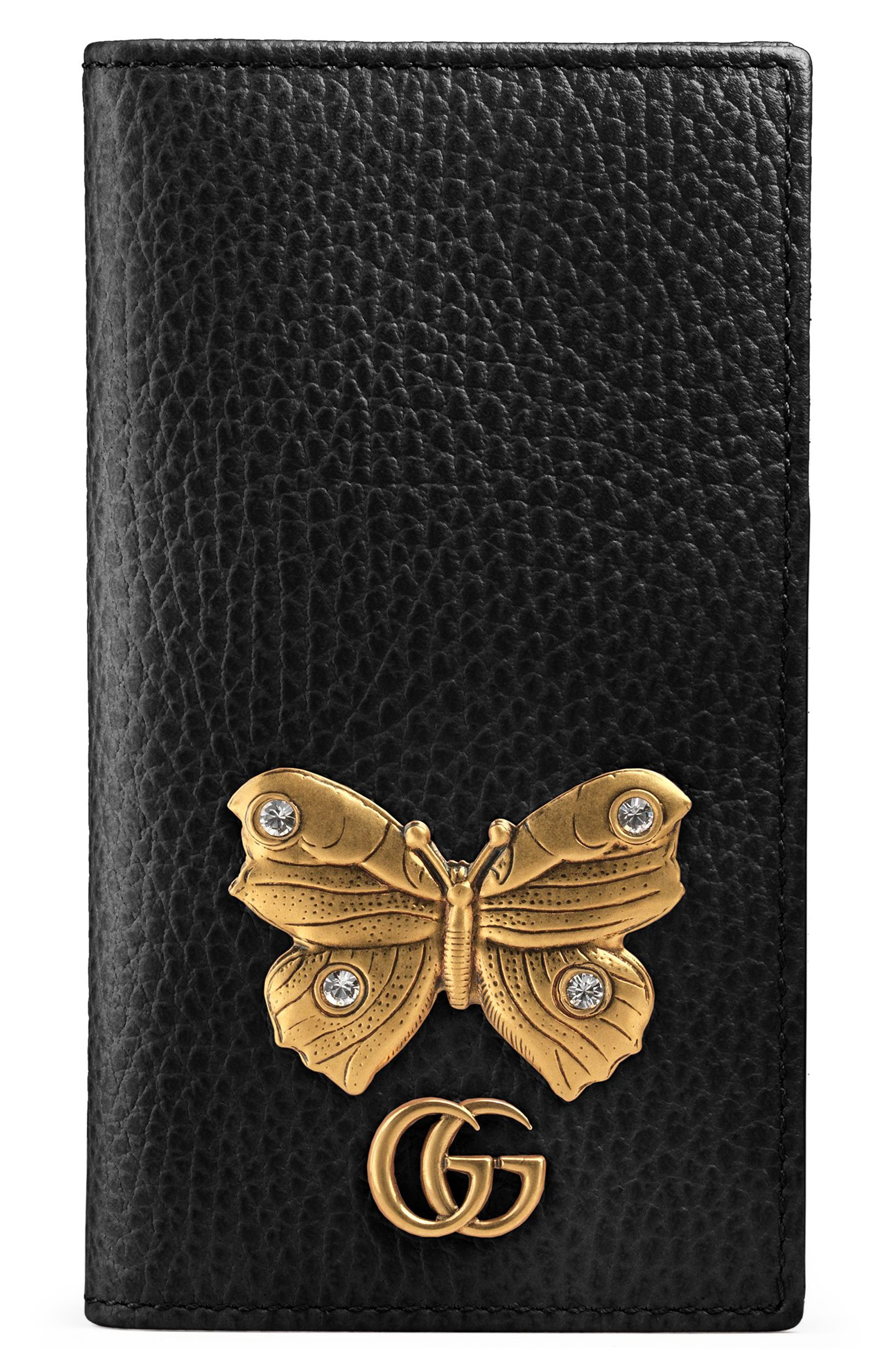 Gucci Farfalla Leather iPhone 7 Case