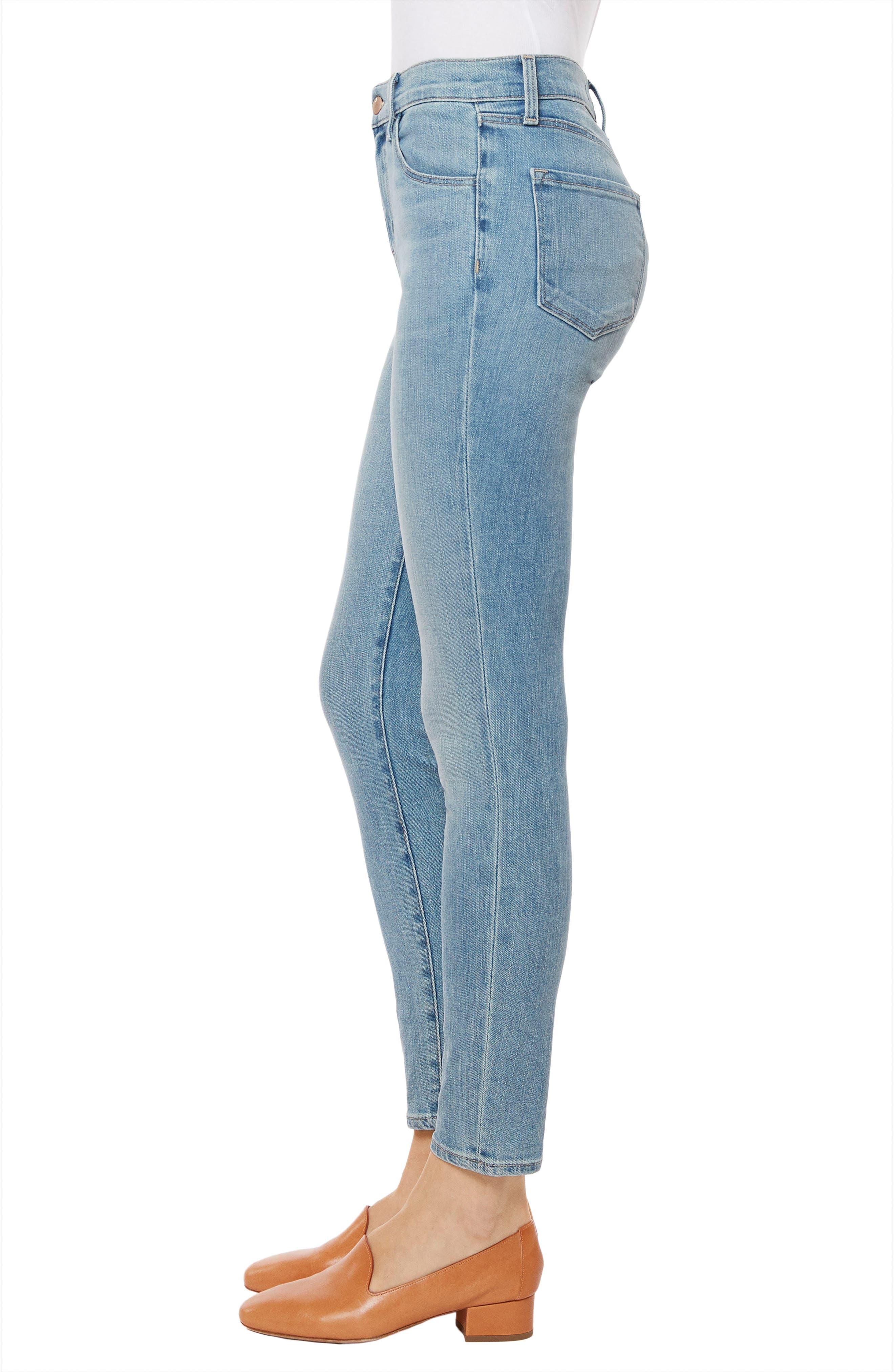 Alana Crop Skinny Jeans,                             Alternate thumbnail 3, color,                             Surge