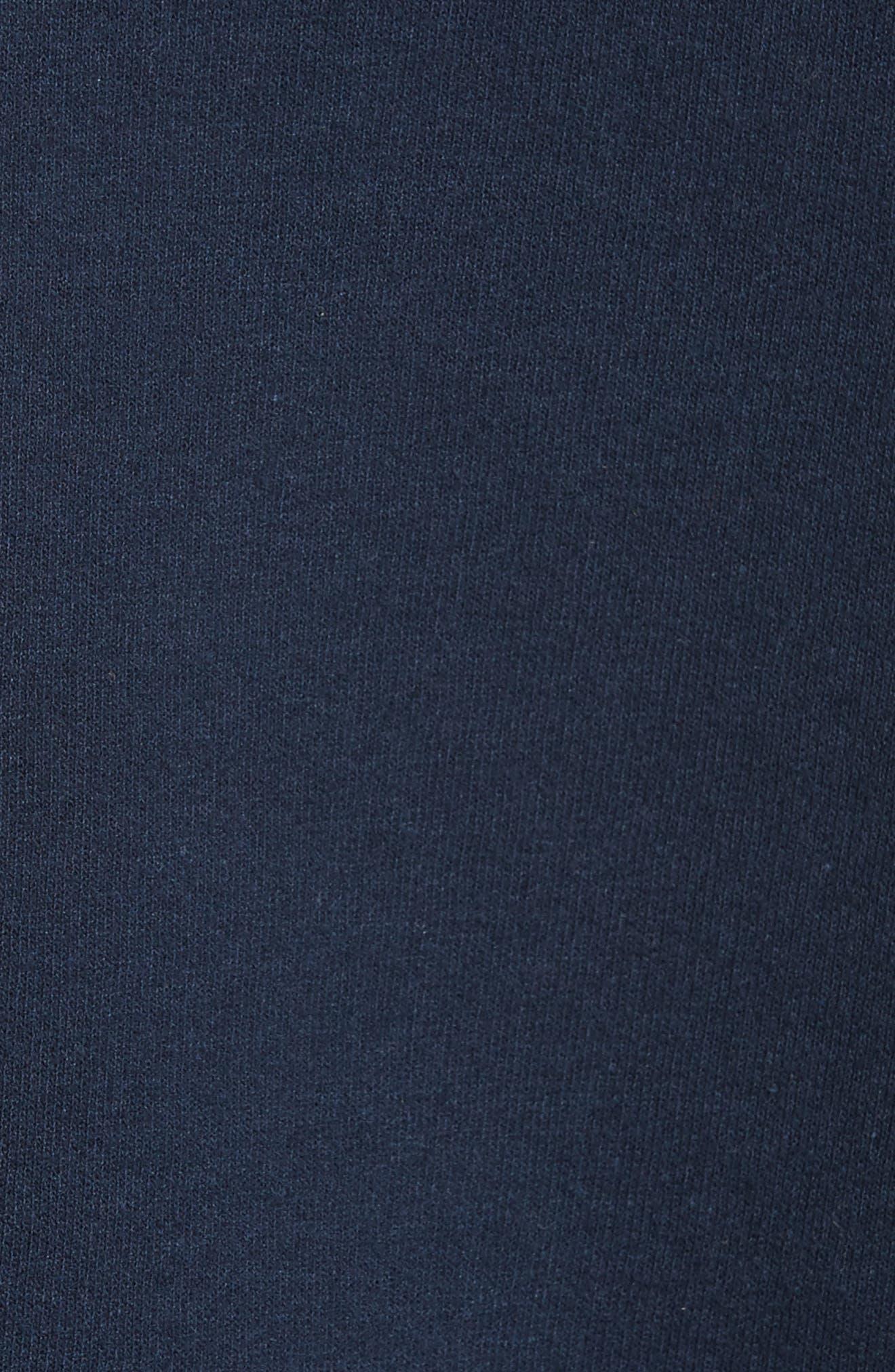 Sequin Sweatshirt Tank,                             Alternate thumbnail 5, color,                             Navy