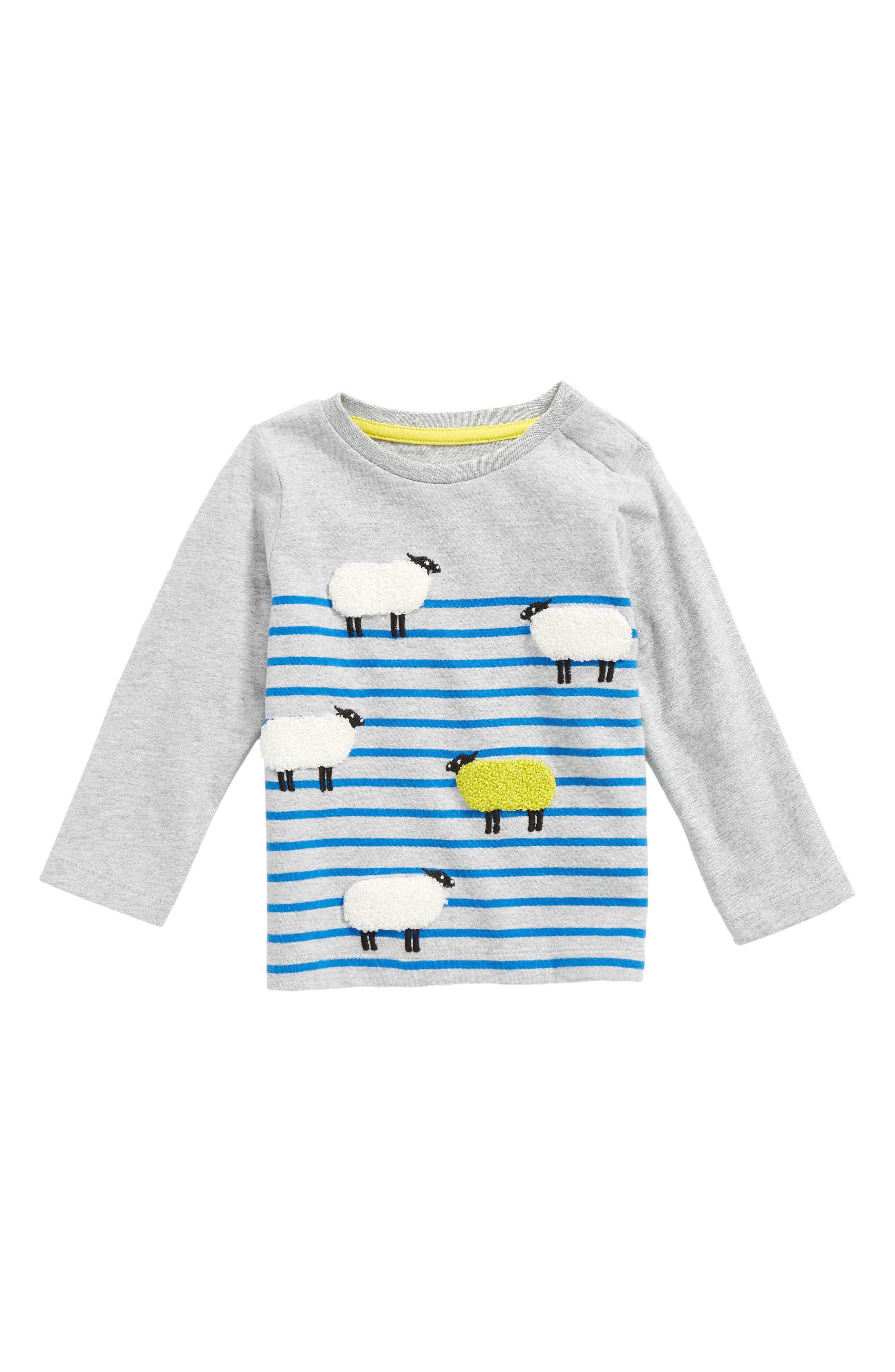 Main Image - Mini Boden Odd One Out T-Shirt (Baby Boys & Toddler Boys)