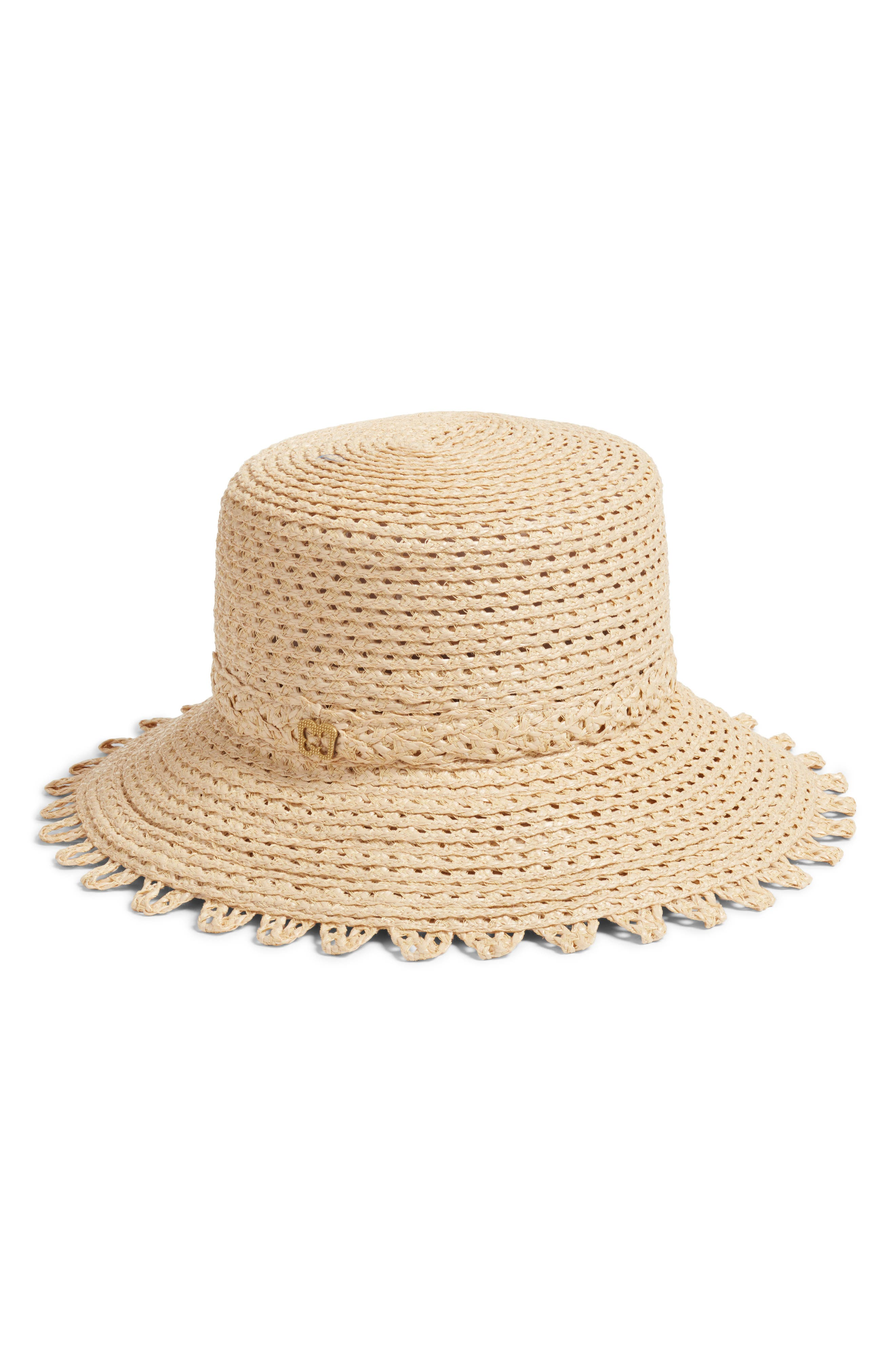 Ibiza Squishee<sup>®</sup> Bucket Hat,                             Alternate thumbnail 2, color,                             Flax