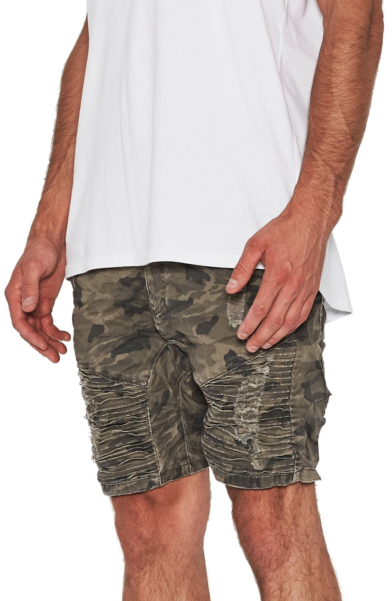 Destroyer Shorts,                             Alternate thumbnail 4, color,                             Airwolf Camo