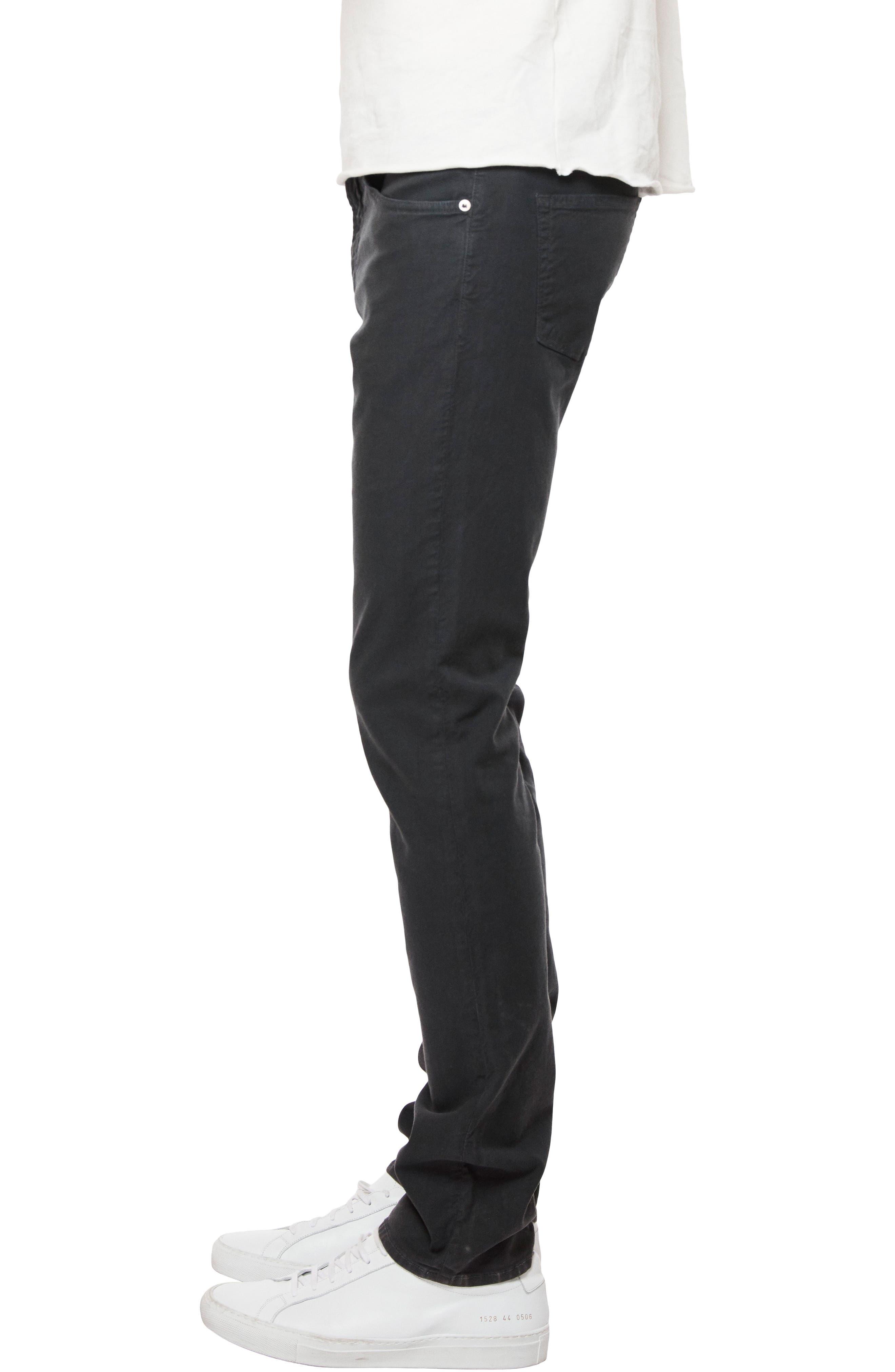 Kane Slim Straight Pants,                             Alternate thumbnail 3, color,                             Greyserite