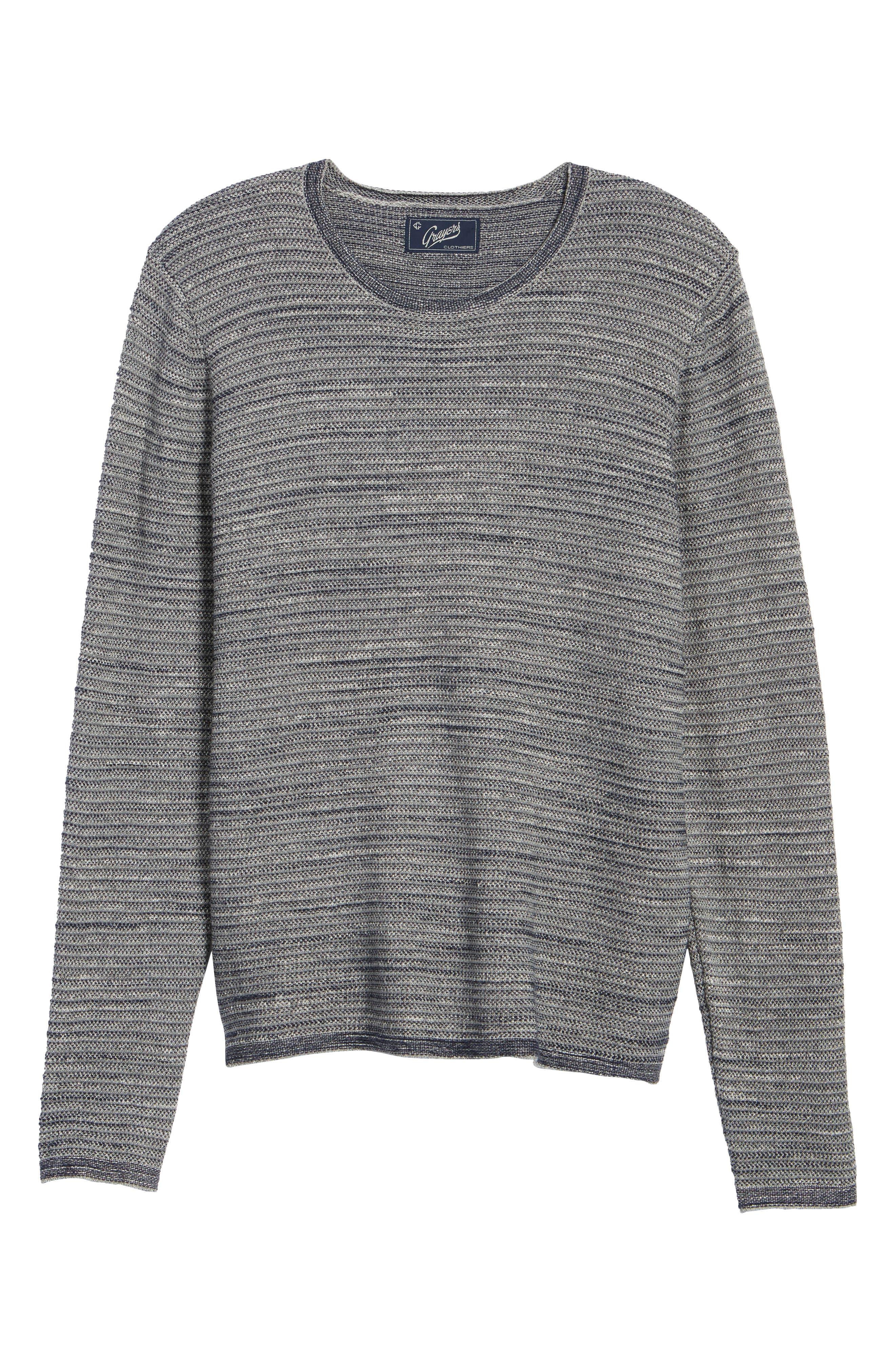 Alternate Image 6  - Grayers Bird's Eye Cotton Jacquard Sweater