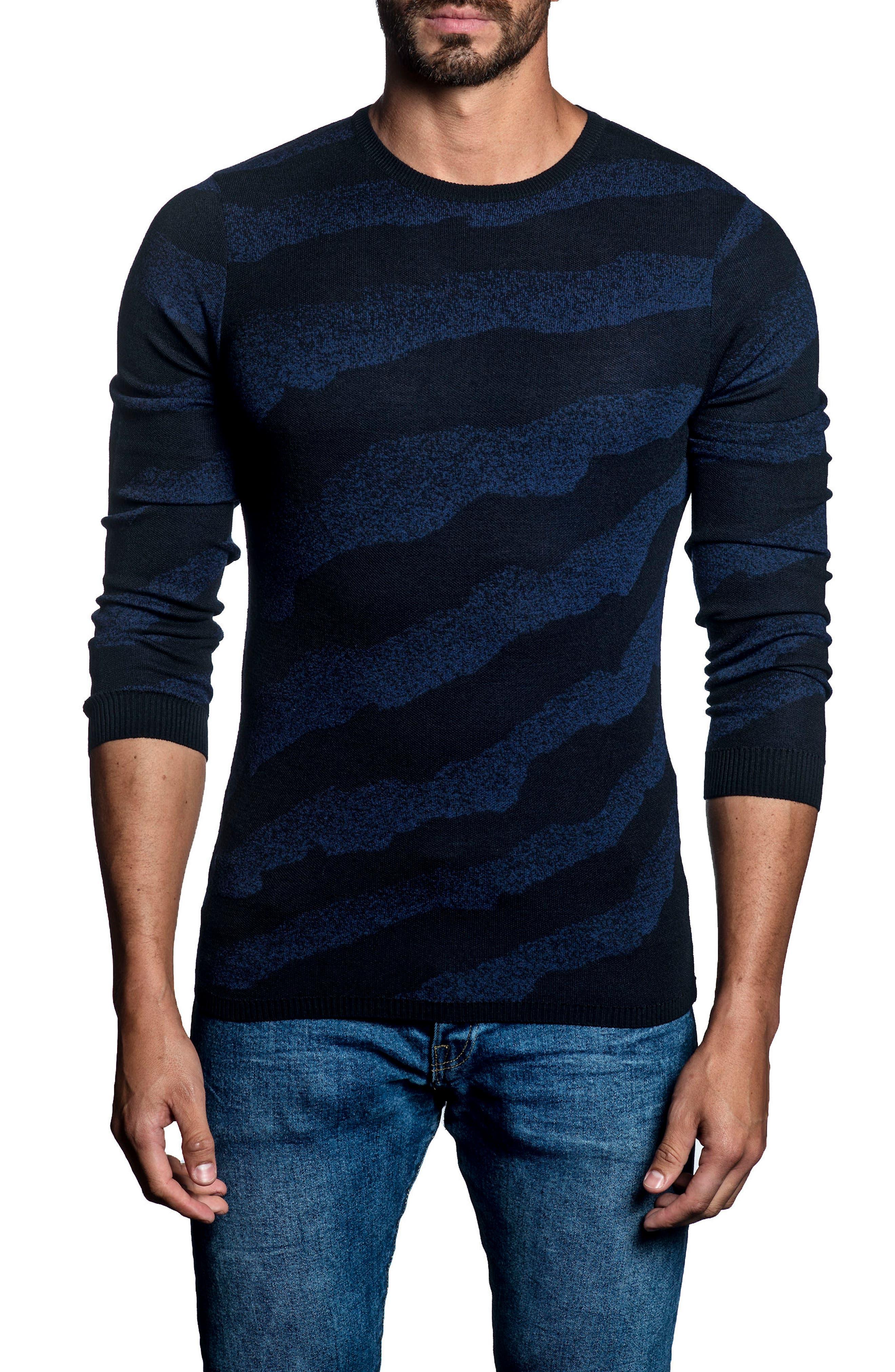 Jared Lang Slim Fit Stripe Sweater