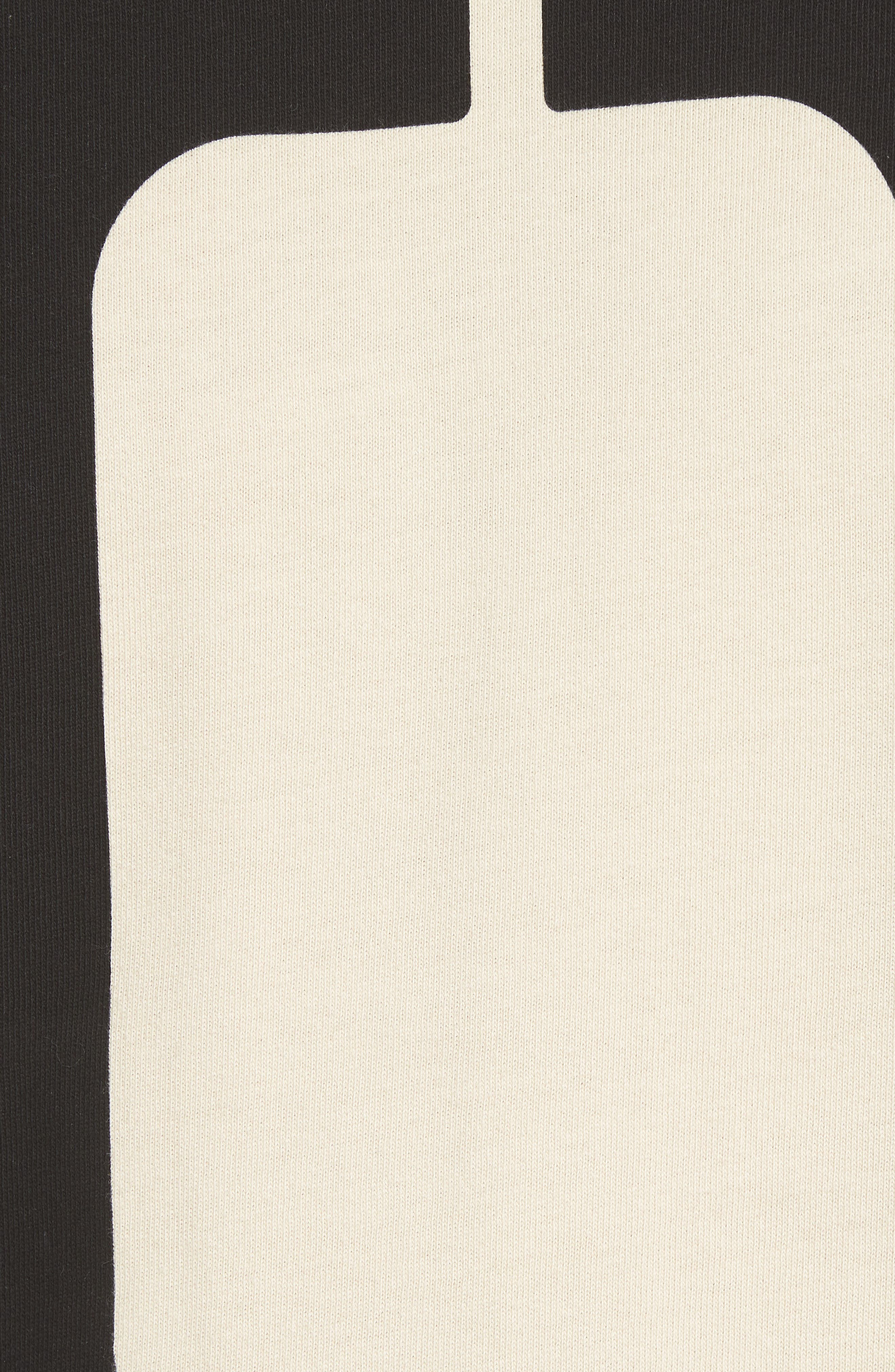 1960s Loose Graphic T-Shirt,                             Alternate thumbnail 5, color,                             Zero Sand Shell