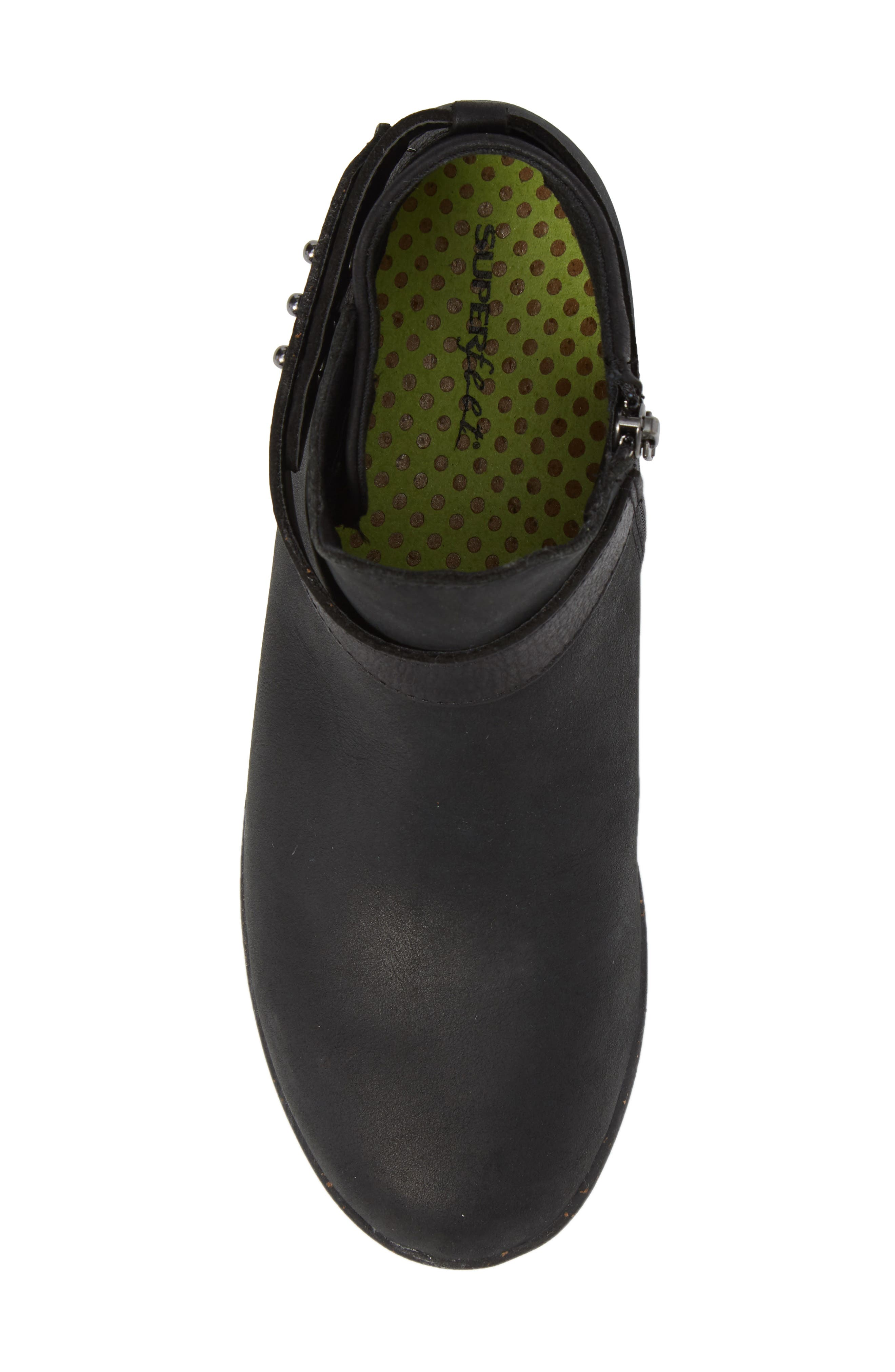 Ash Bootie,                             Alternate thumbnail 5, color,                             Black Leather