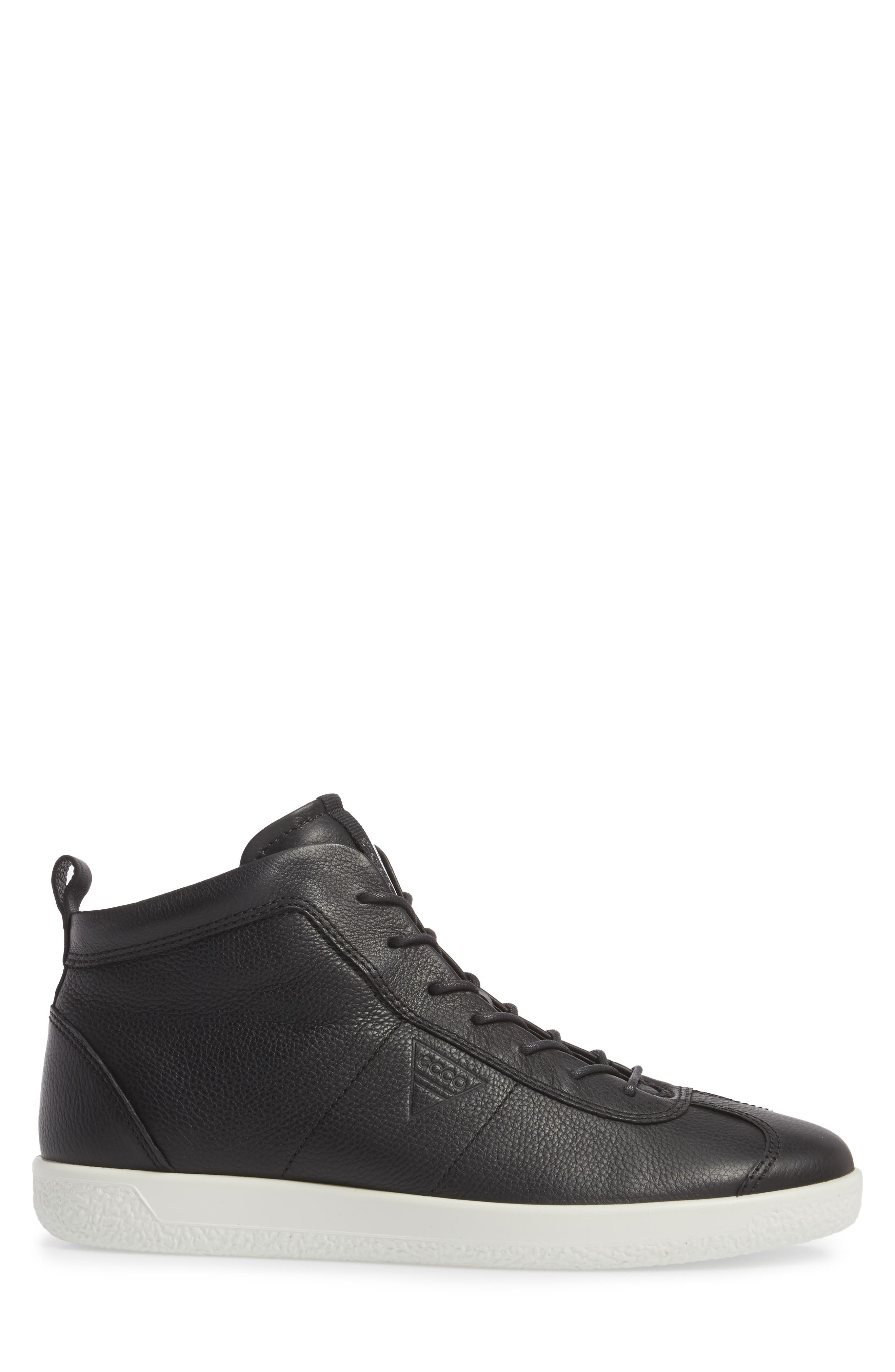 Alternate Image 3  - ECCO Soft 1 High Top Sneaker (Men)