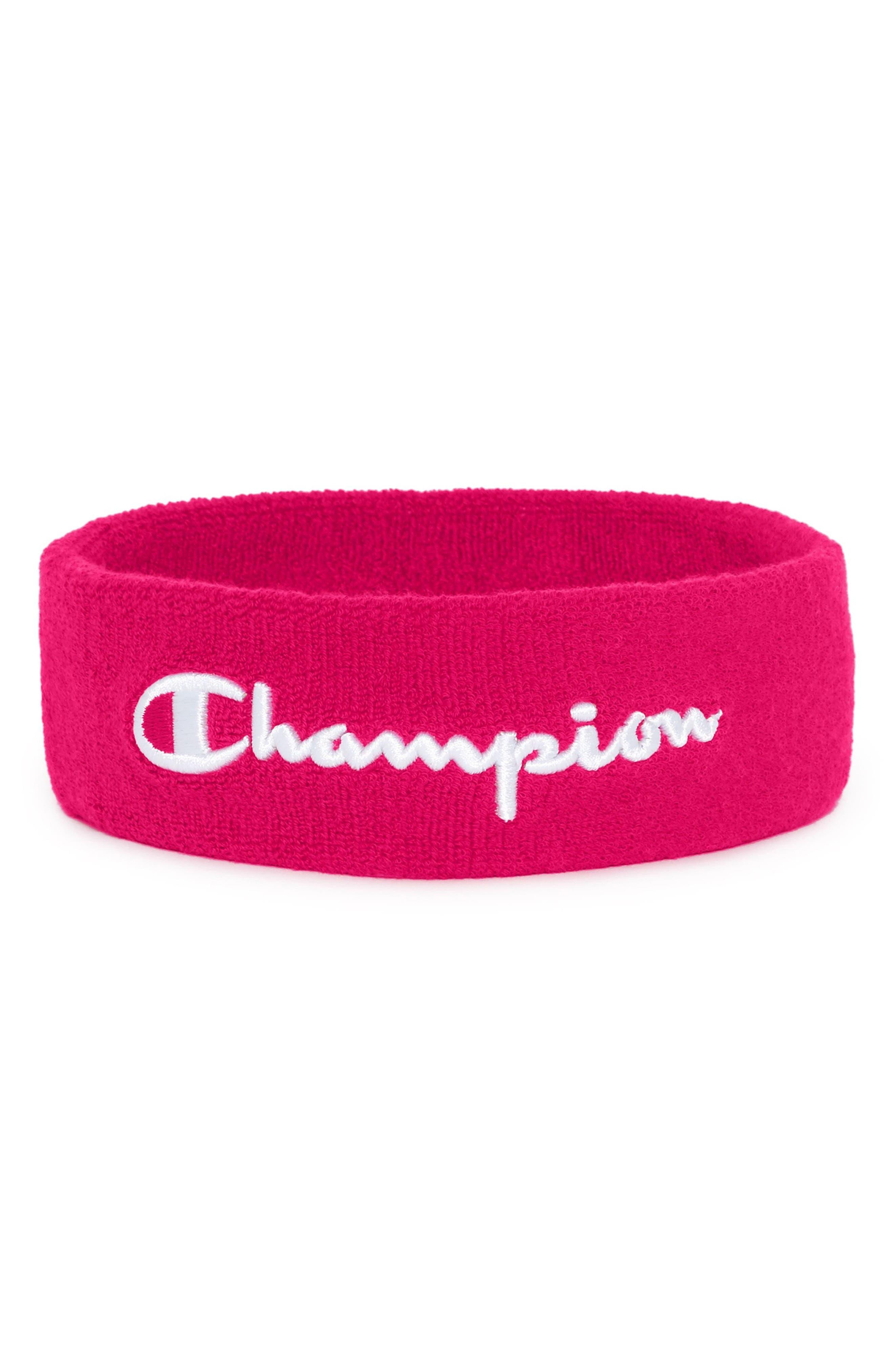 Champion Terry Logo Sweatband