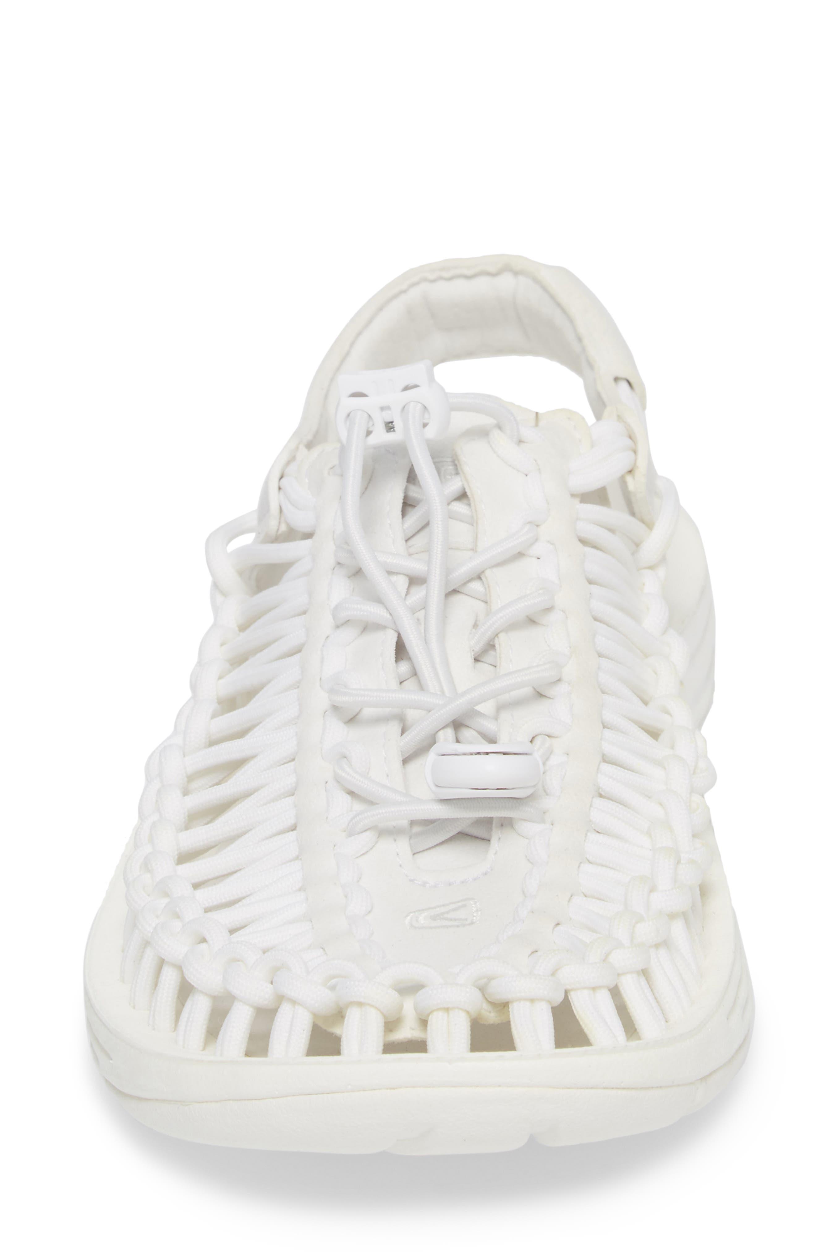 'Uneek' Water Sneaker,                             Alternate thumbnail 4, color,                             Star White