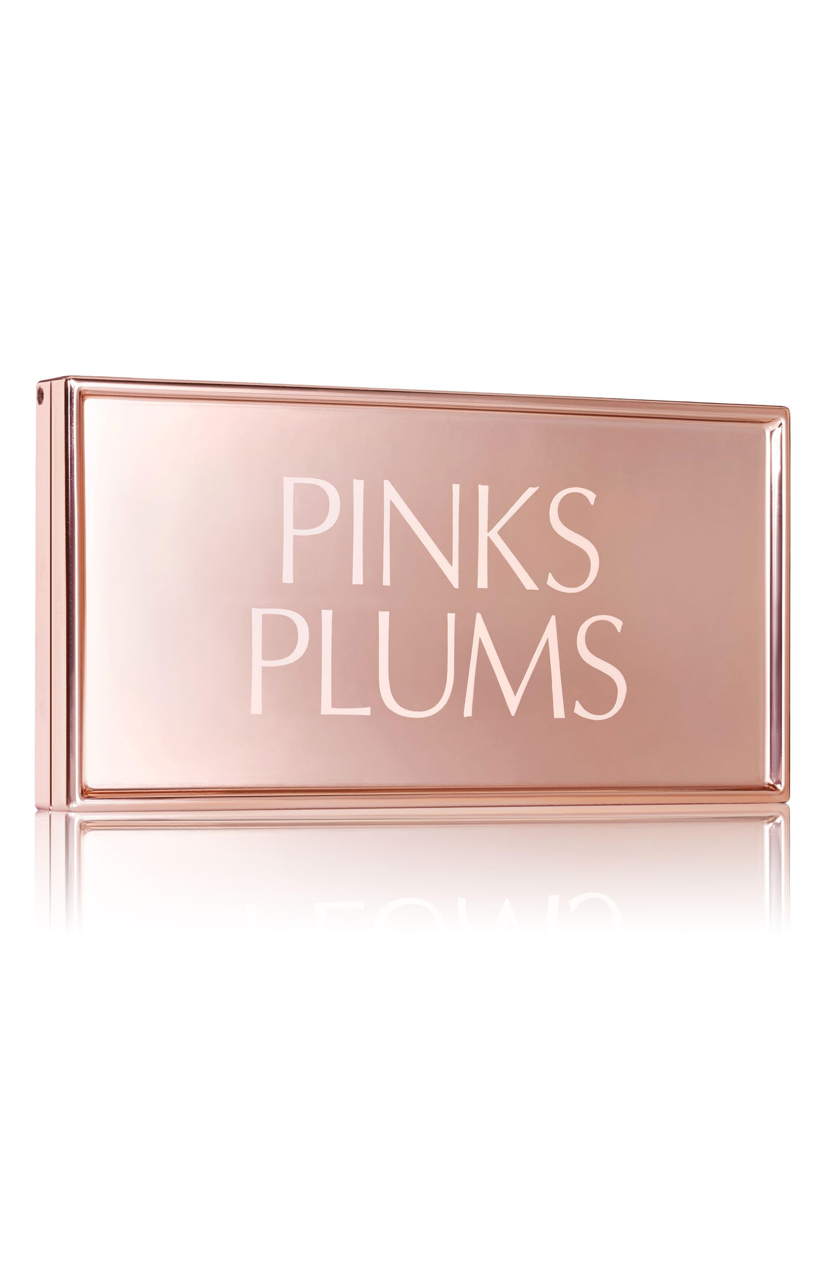 Pinks + Plums Lip Palette,                             Alternate thumbnail 3, color,                             No Color