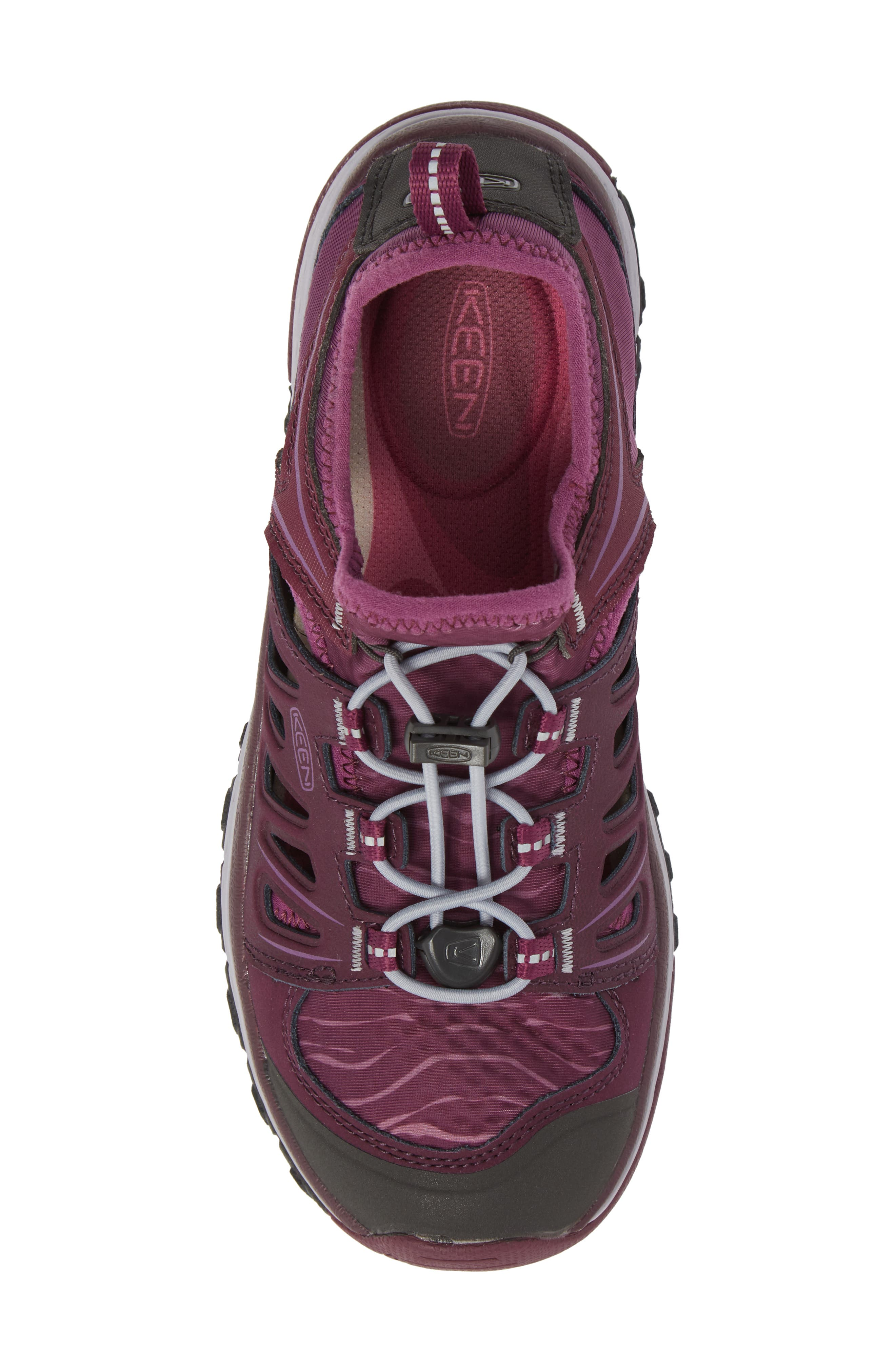 Terradora Ethos Hiking Sneaker,                             Alternate thumbnail 5, color,                             Grape Wine/ Grape Kiss
