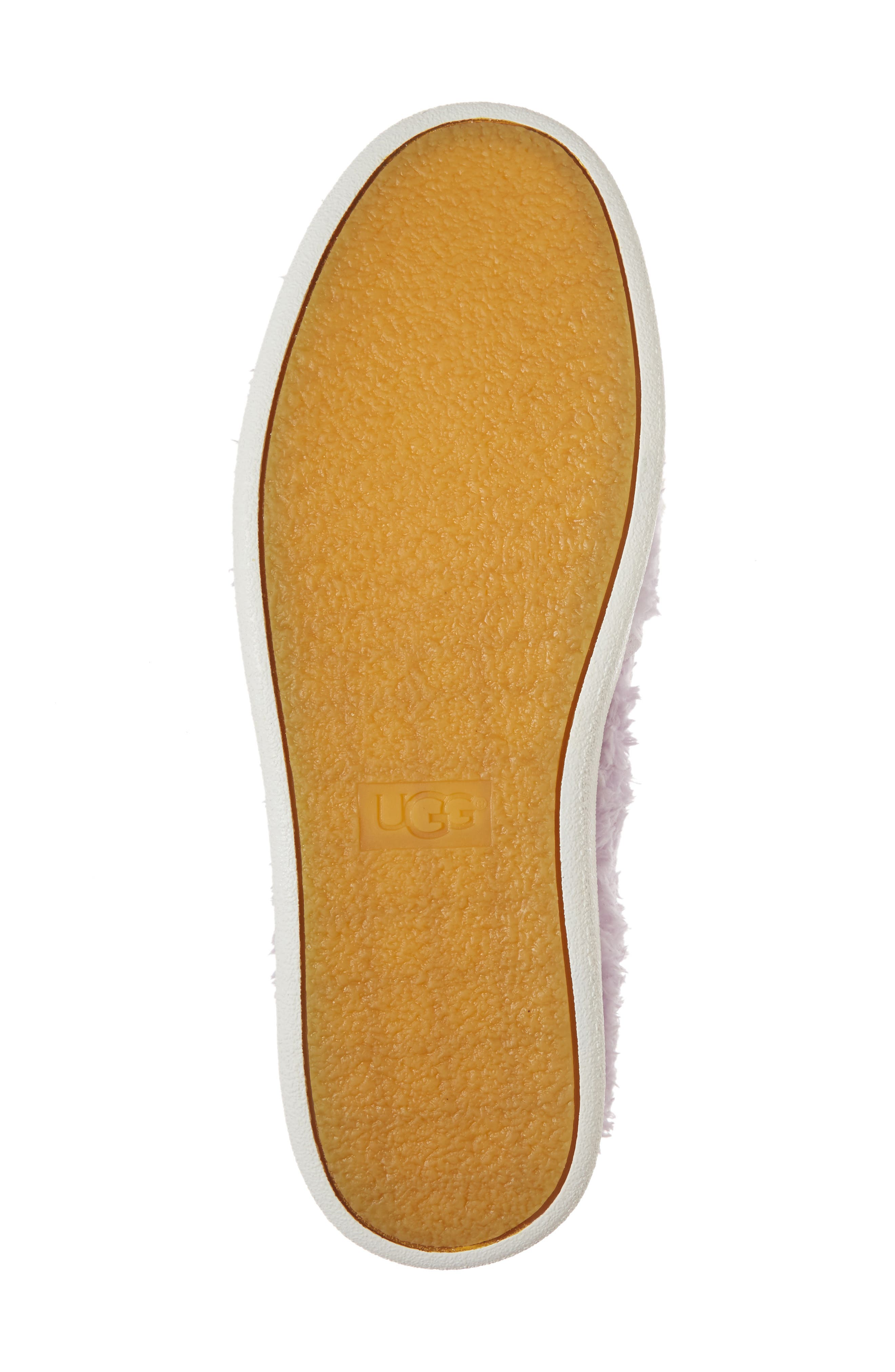 Alternate Image 6  - UGG® Ricci Plush Genuine Shearling Pompom Slip-On Sneaker (Women)